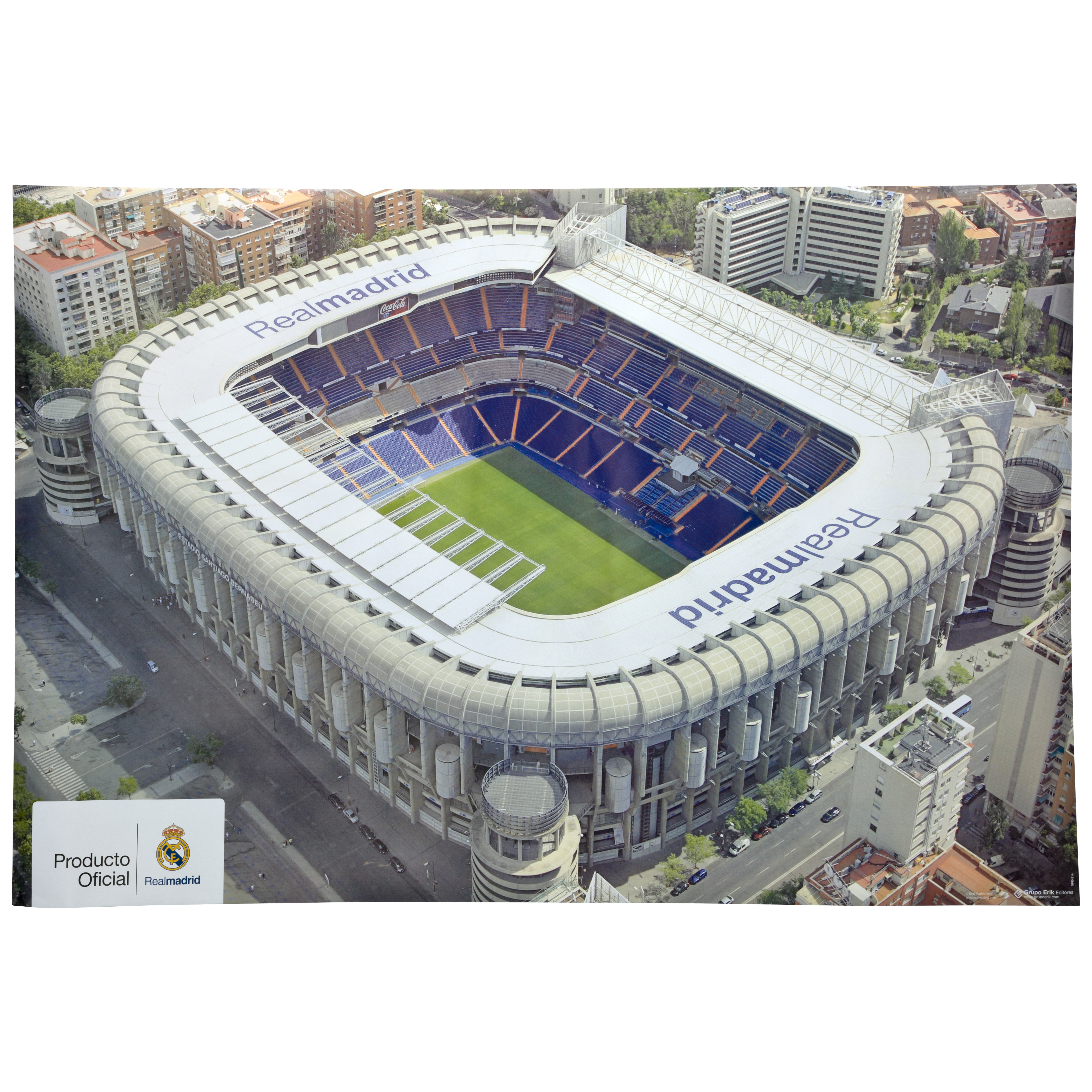 Pster del Real Madrid del estadio - 61 x 91.5cm