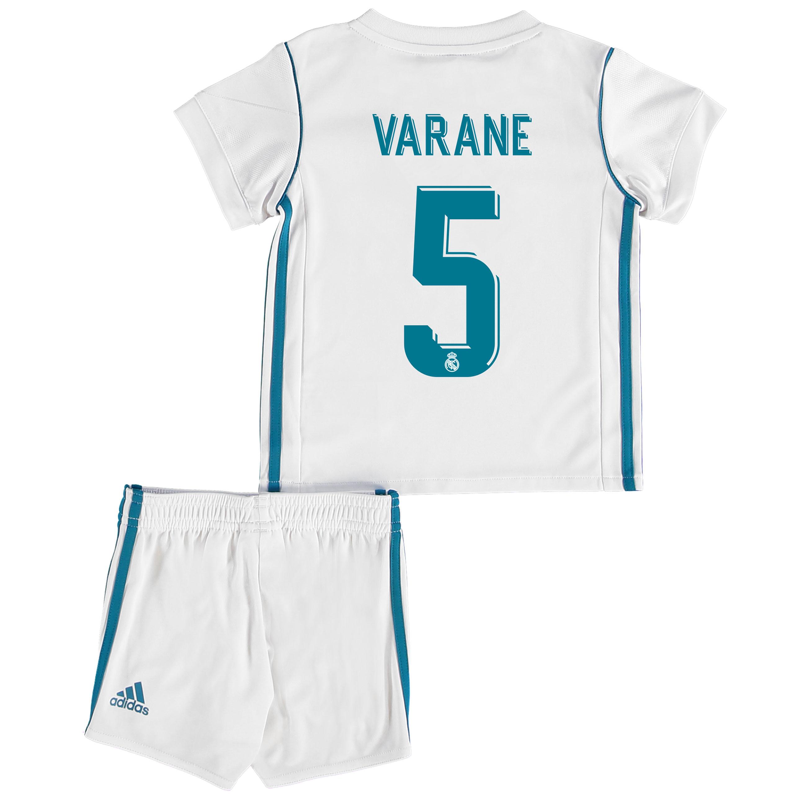 Real Madrid Home Baby Kit 2017-18 with Varane 5 printing