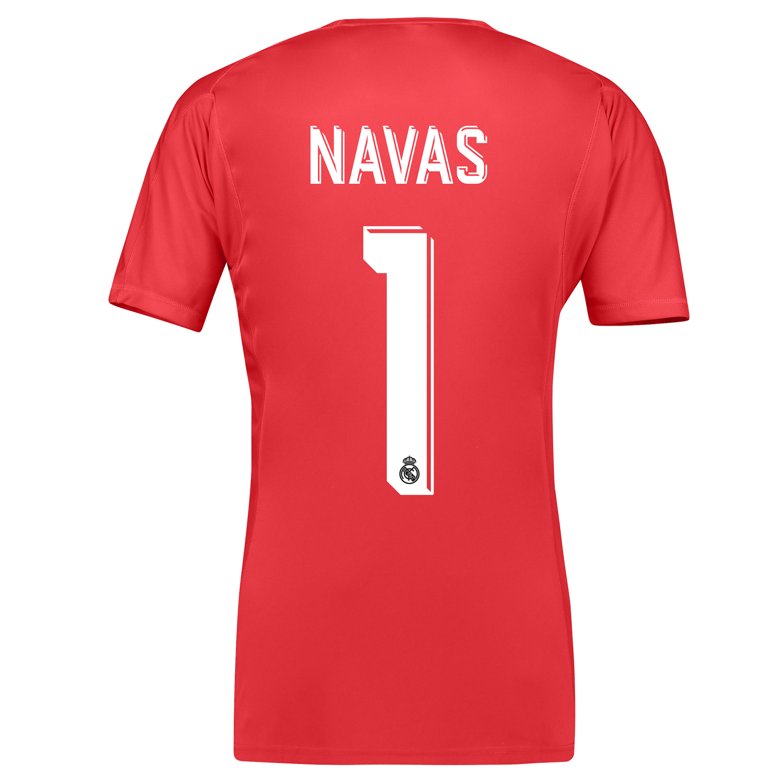 Real Madrid Away Goalkeeper Shirt 2017-18 with Navas 1 printing