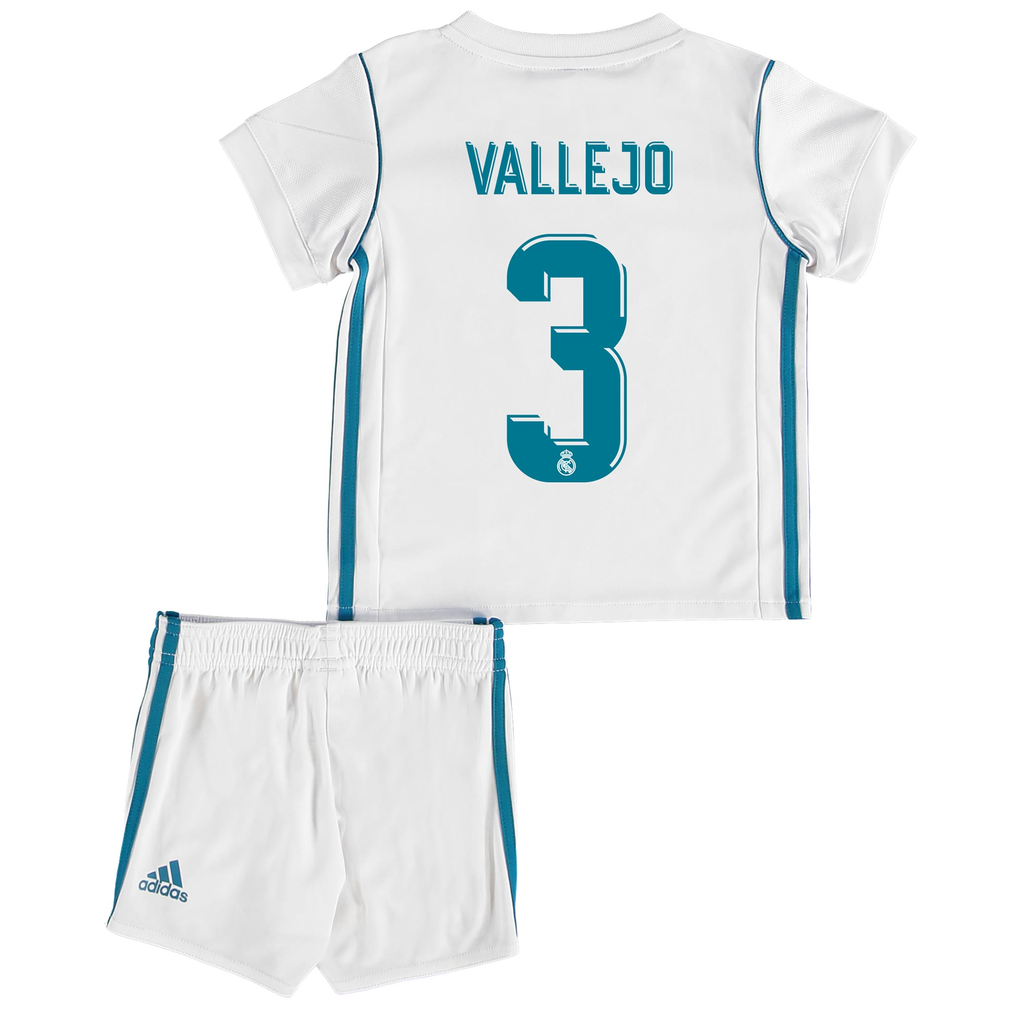 Real Madrid Home Baby Kit 2017-18 with Vallejo 3 printing