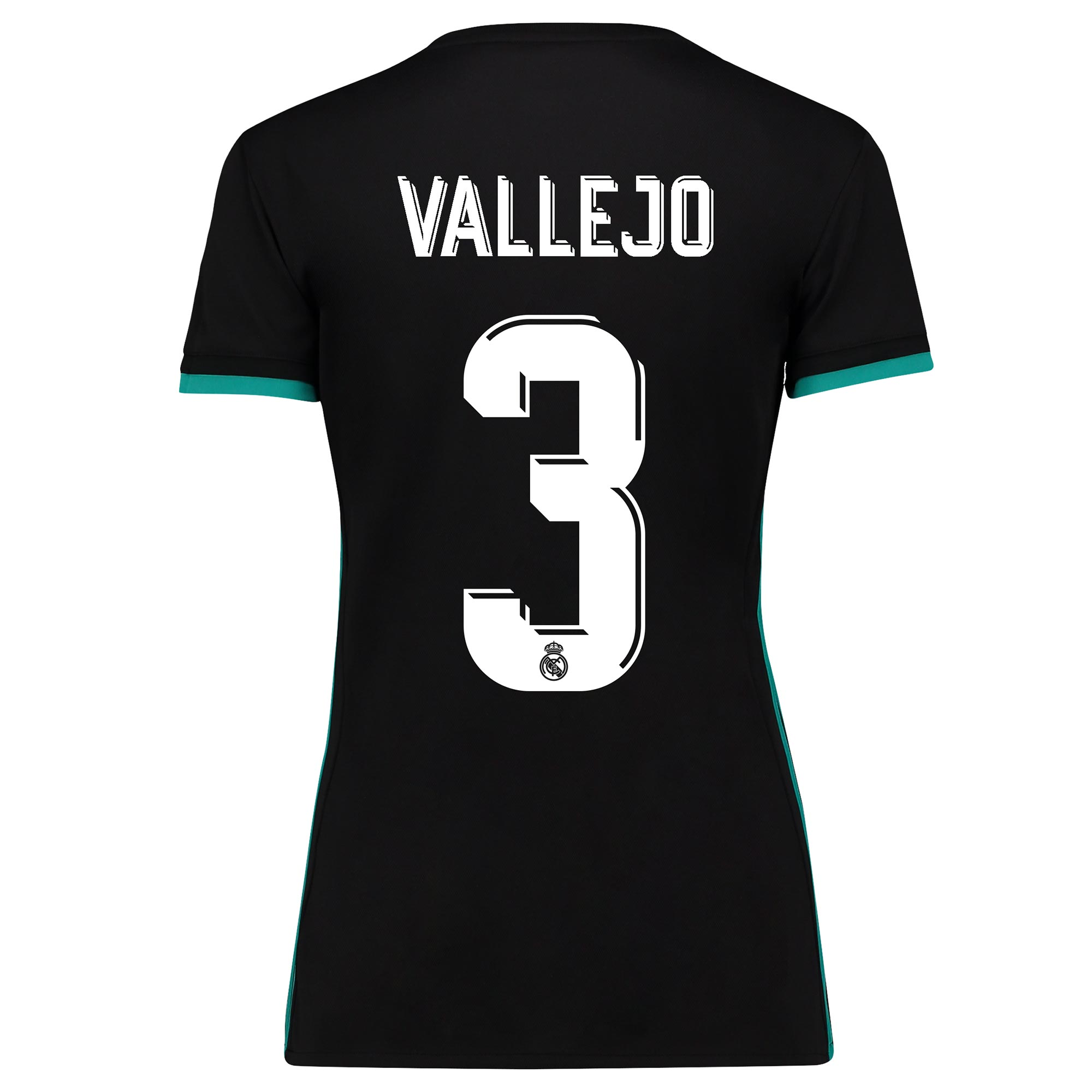 Camiseta de la 2ª equipación Real Madrid 2017/18 - Mujer con estampado Vallejo 3