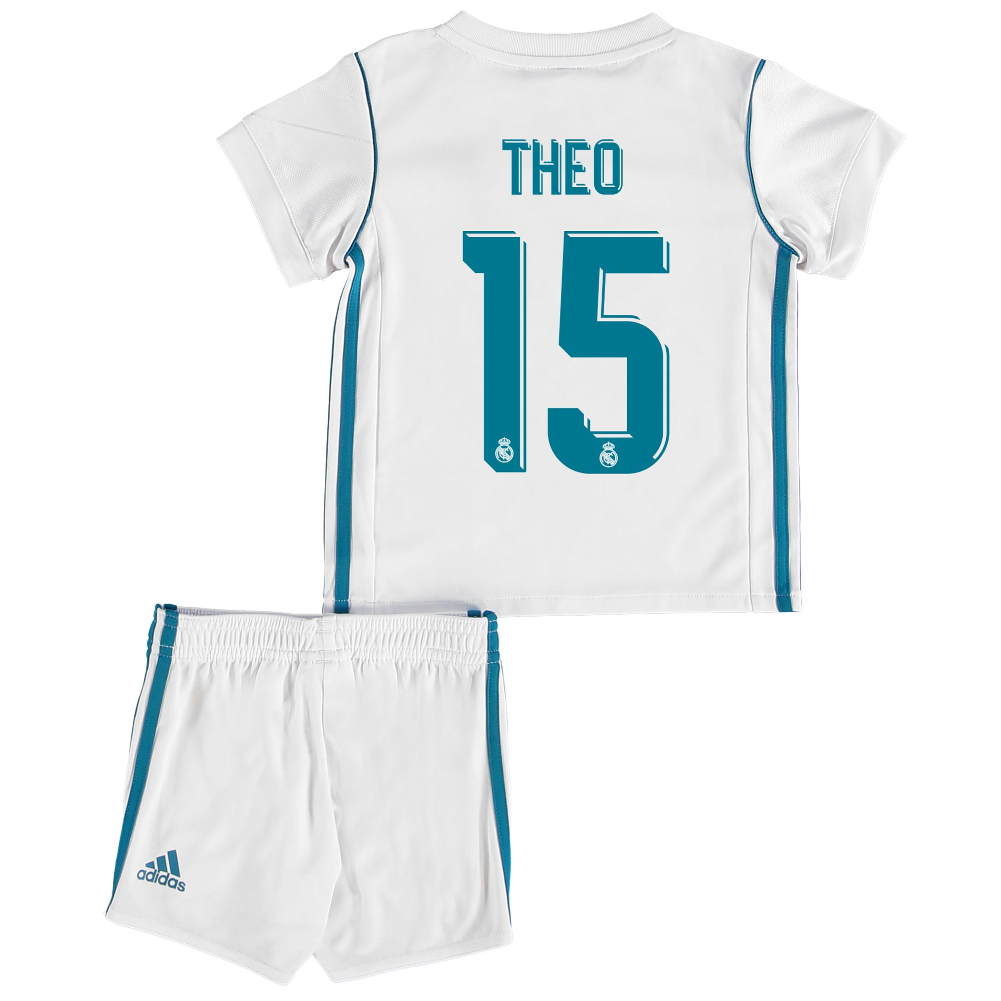 Real Madrid Home Baby Kit 2017-18 with Theo 15 printing