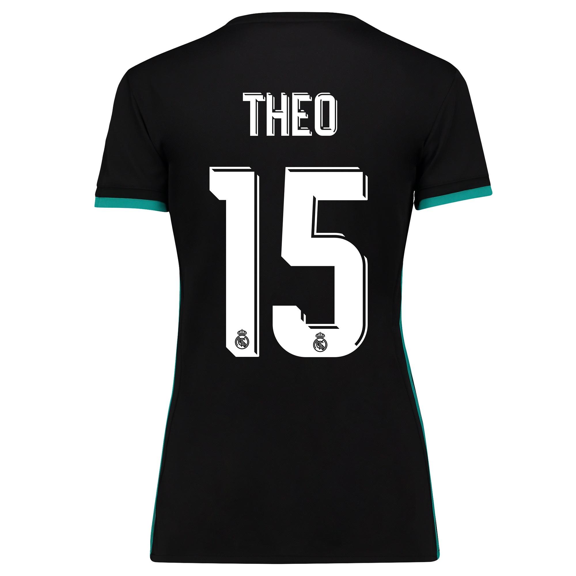 Camiseta de la 2ª equipación Real Madrid 2017/18 - Mujer con estampado Theo 15