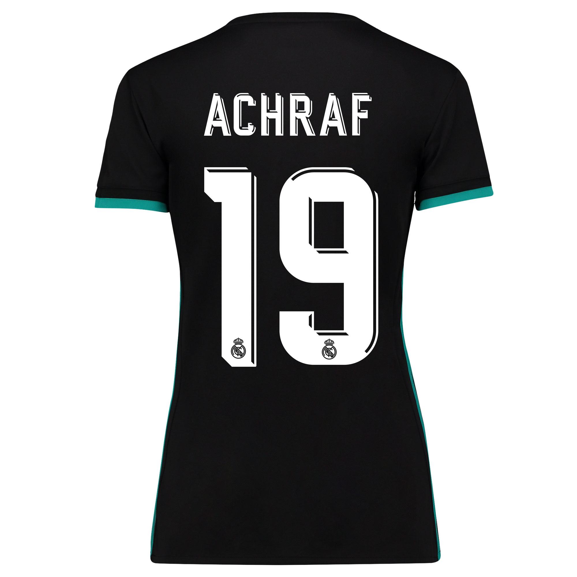 Camiseta de la 2ª equipación Real Madrid 2017/18 - Mujer con estampado Achraf 19
