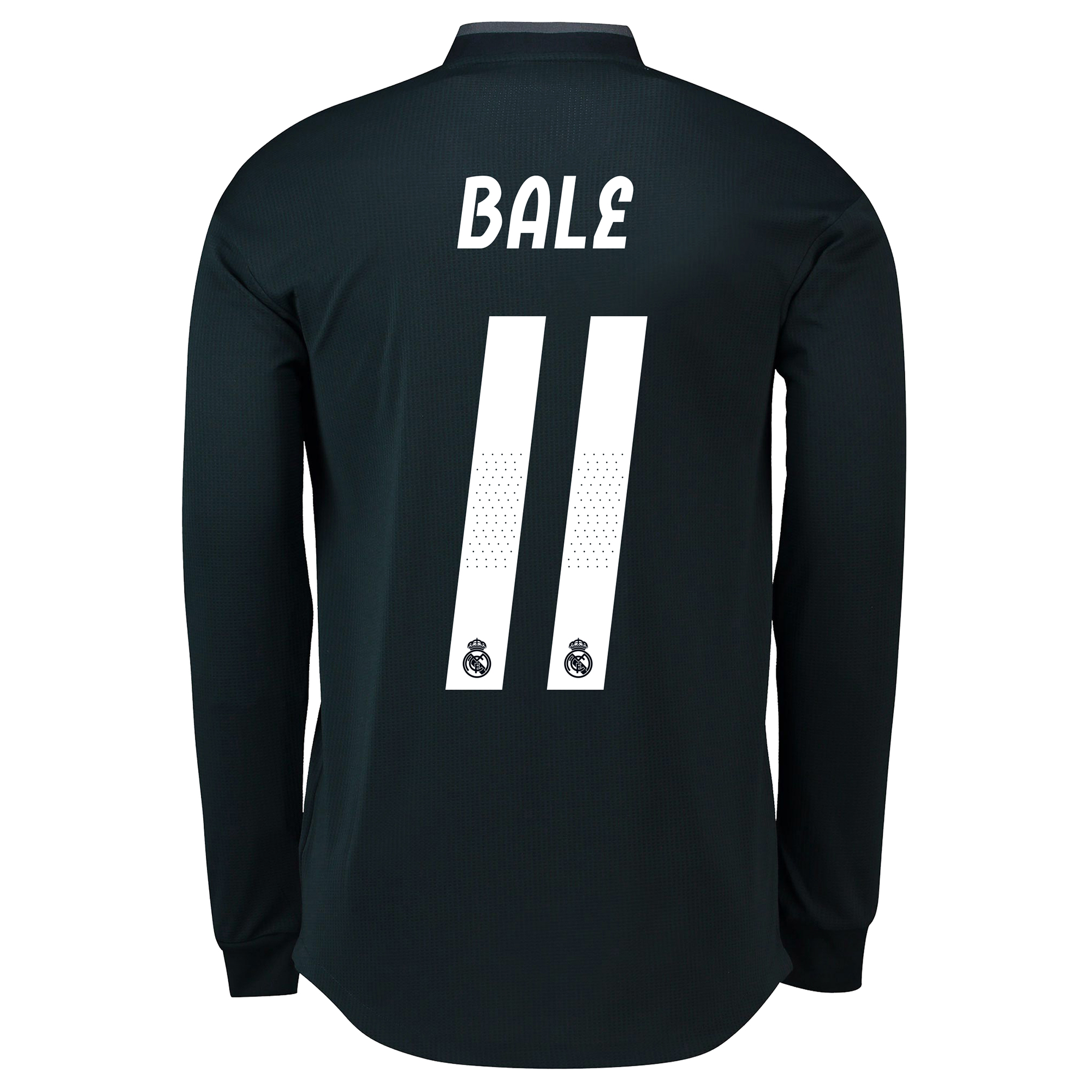 Image of Real Madrid Away Adi Zero Shirt 2018-19 - Long Sleeve with Bale 11 printing