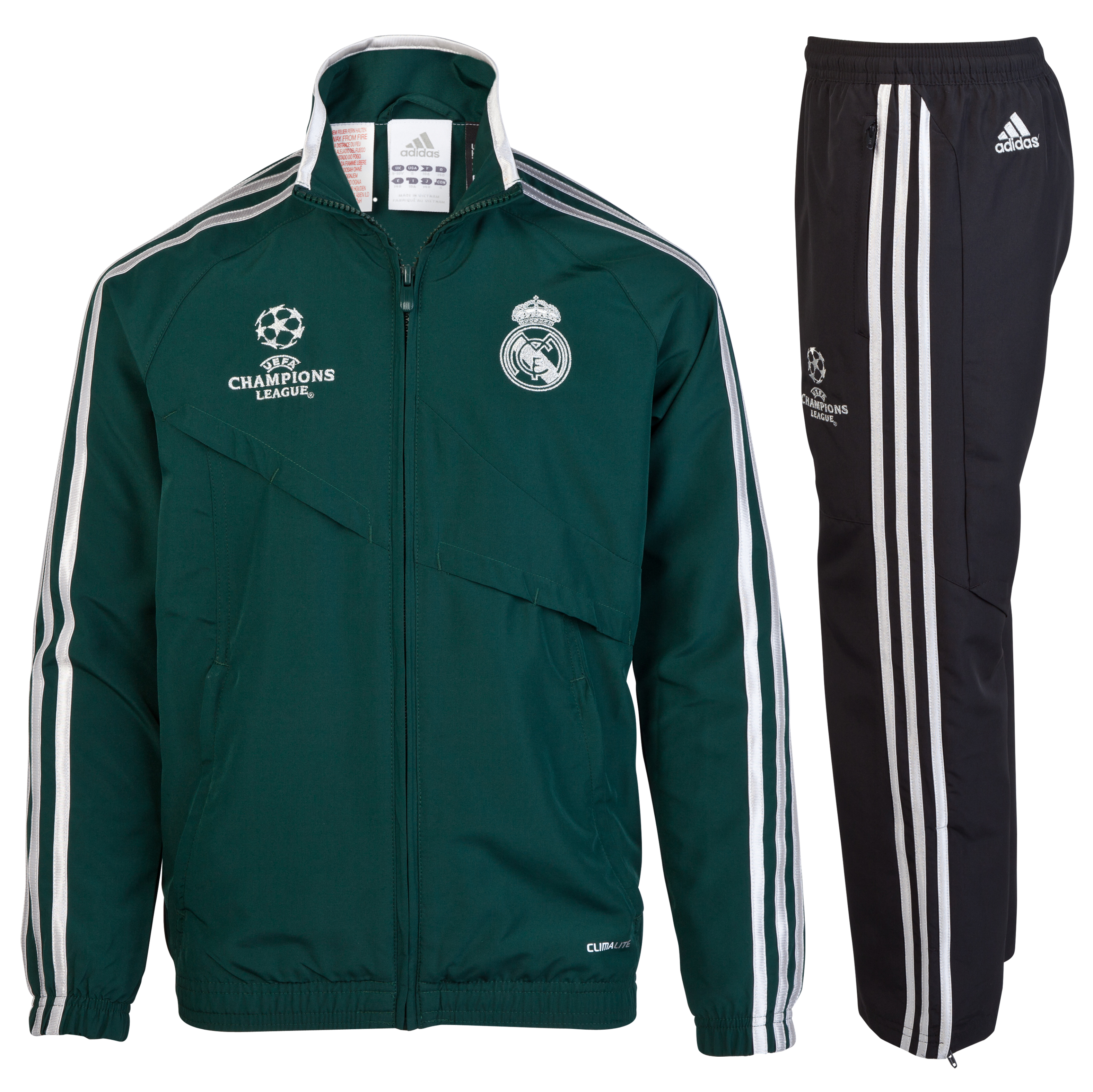 Traje de Presentacin Real Madrid de la Liga de Campeones - Cadete