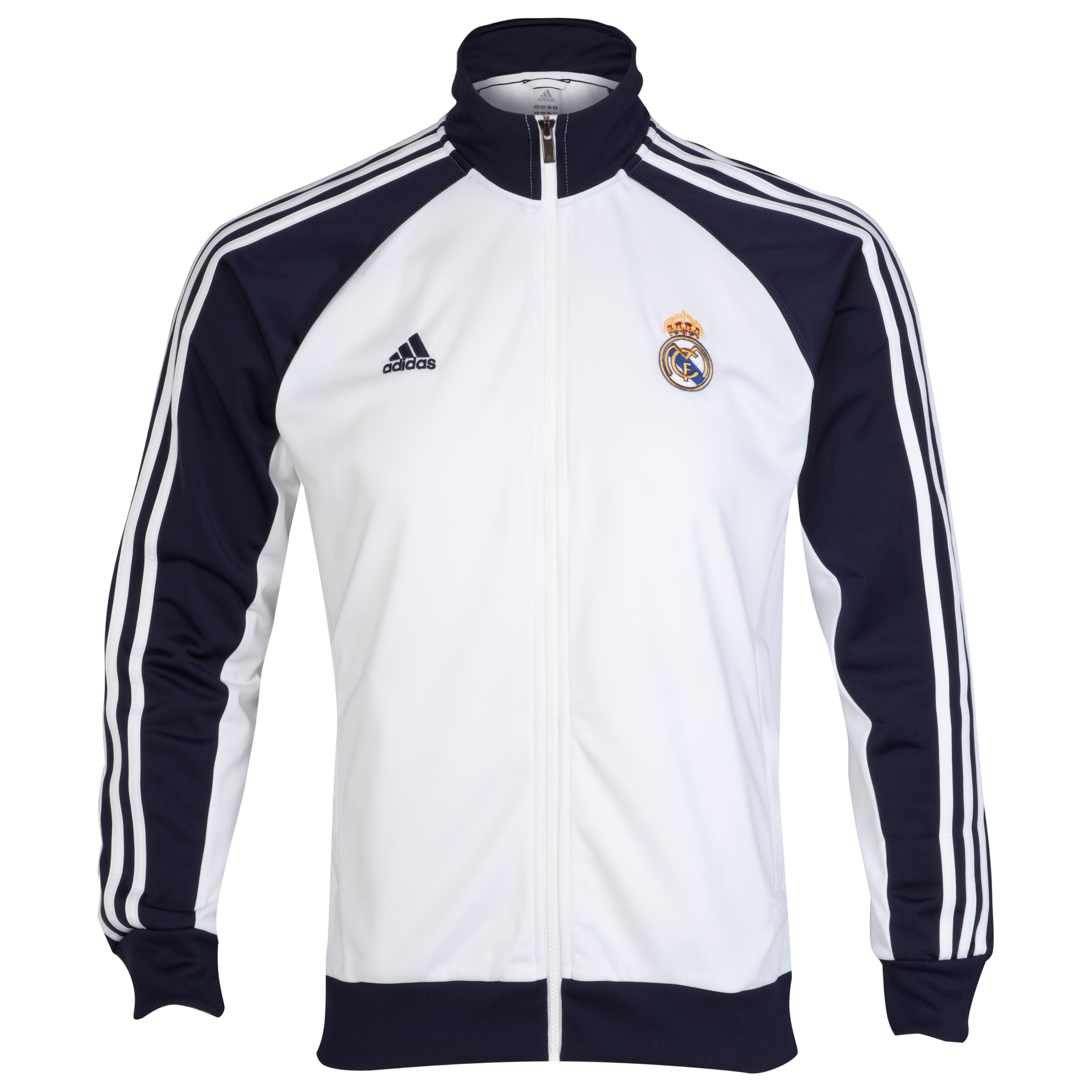 Real Madrid Core Track Top - White/Noble Ink
