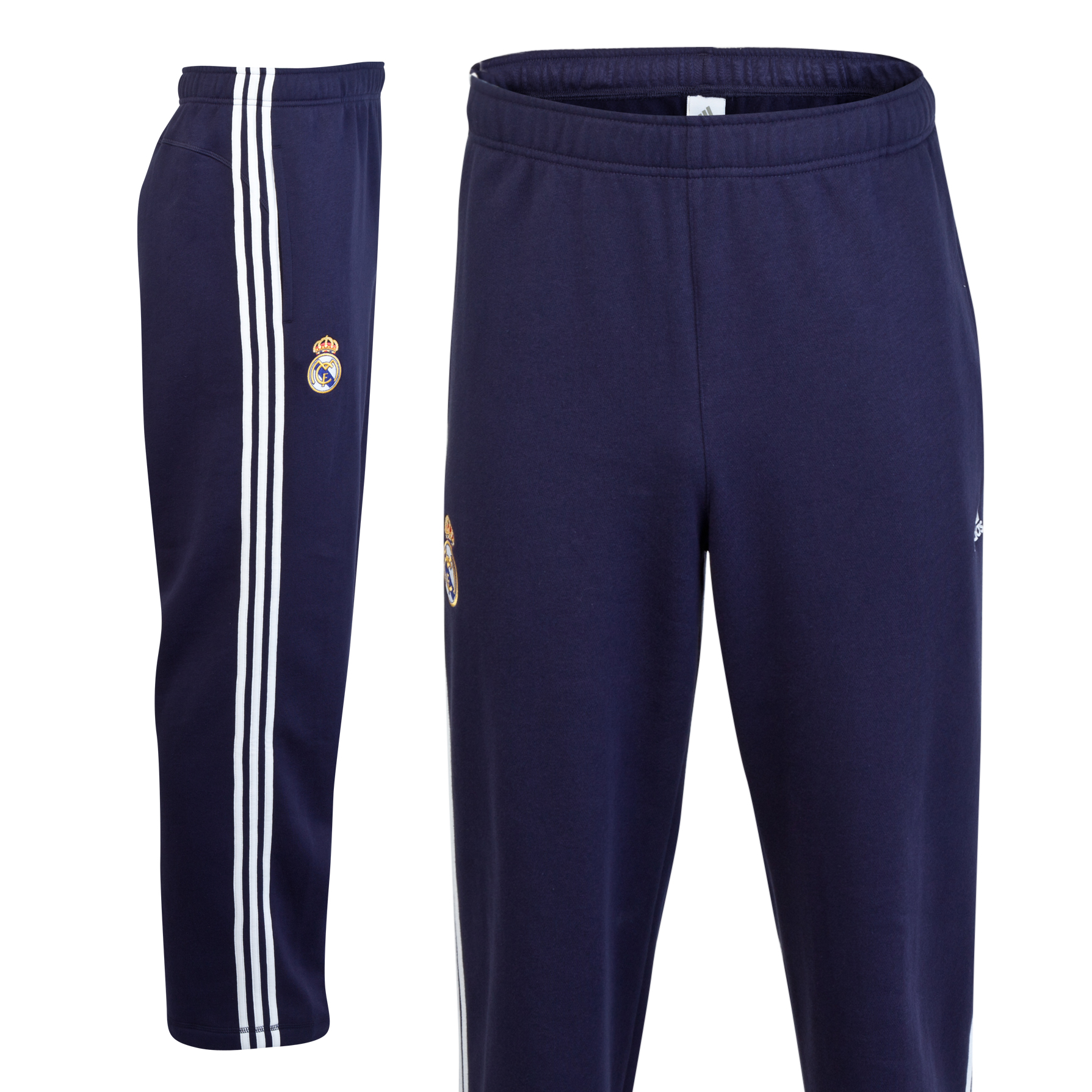 Pantaln Core Real Madrid - Negro/blanco