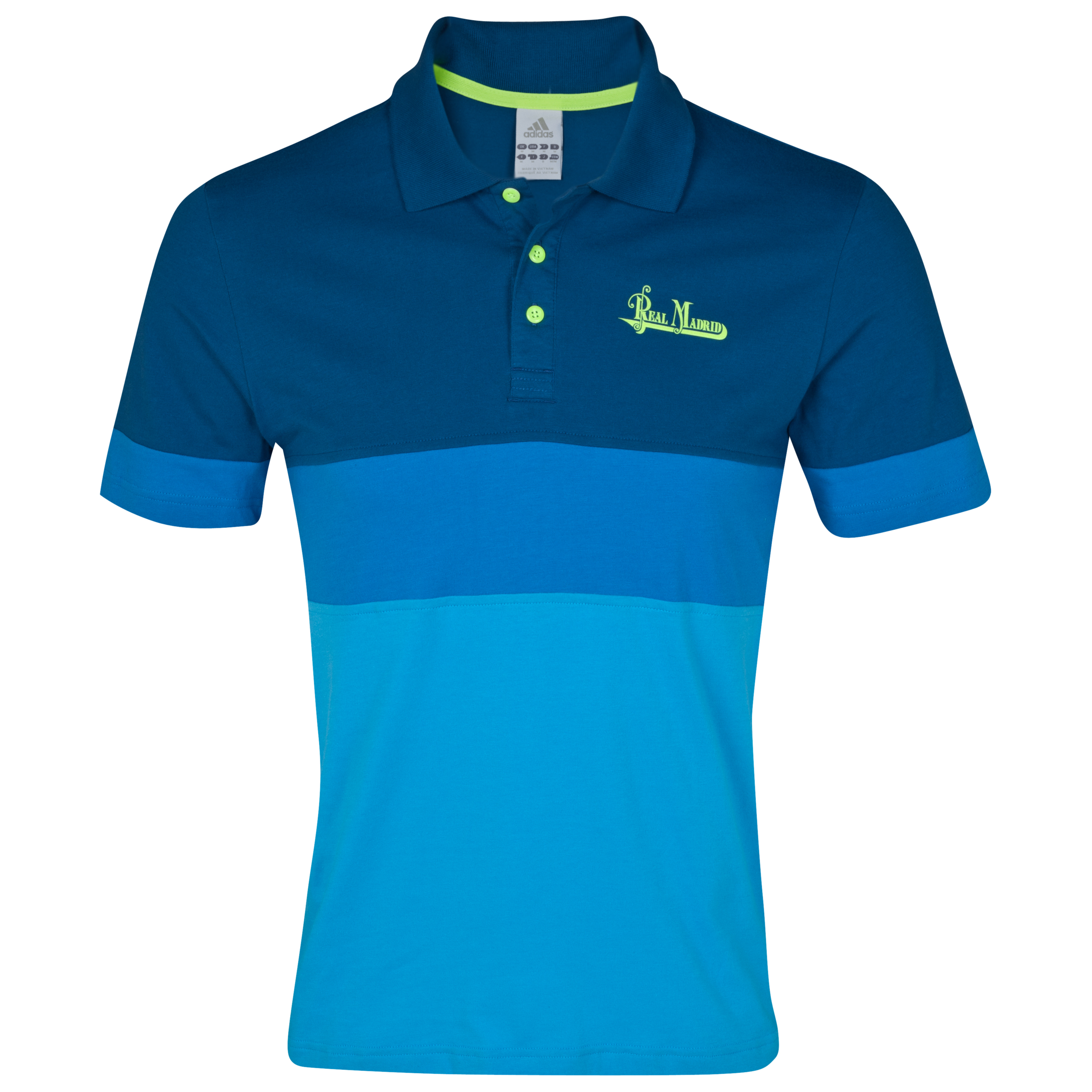 Real Madrid Urban Polo - Cyan/Lone Blue/Electricity