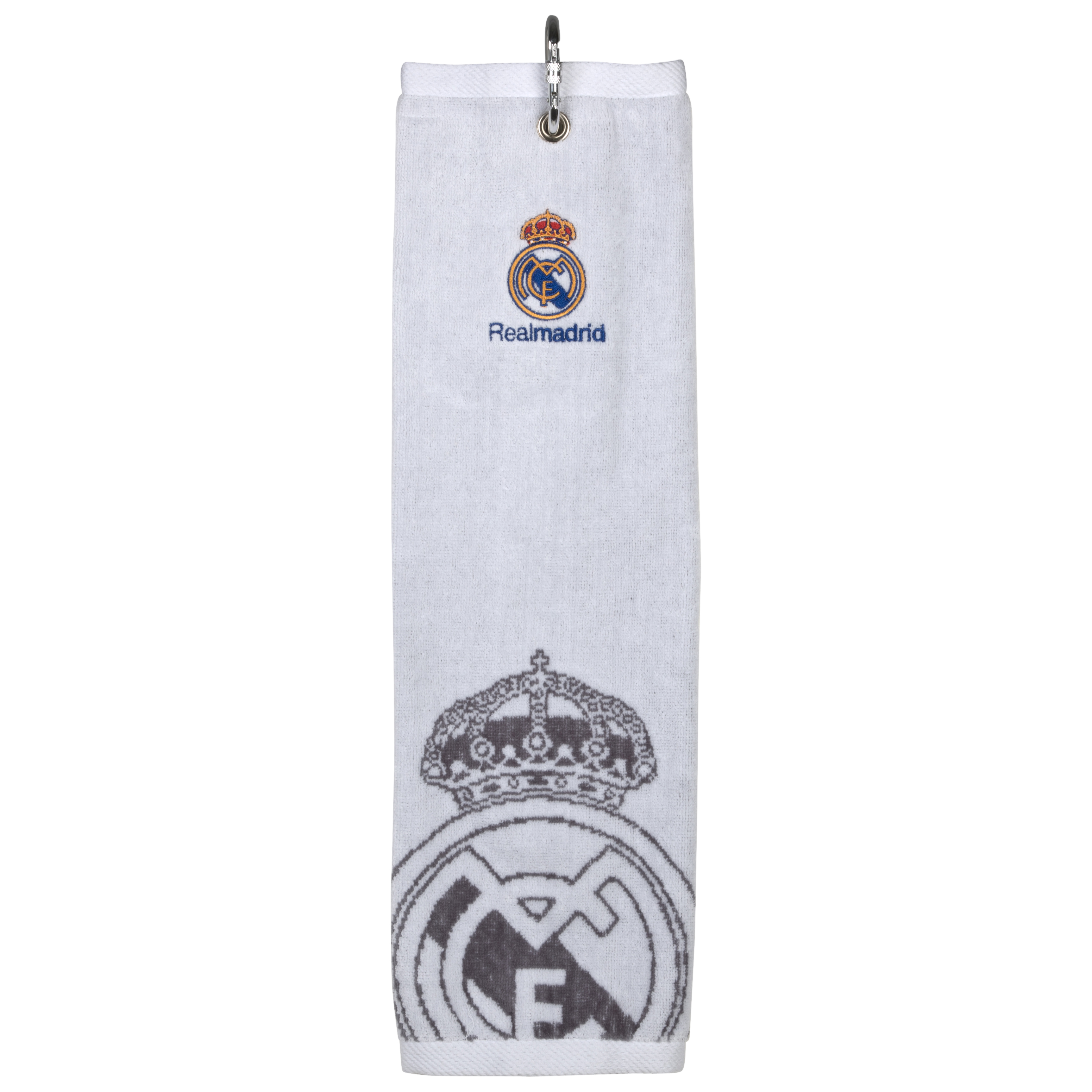 Real Madrid Golf Tri Fold Jacquard Towel