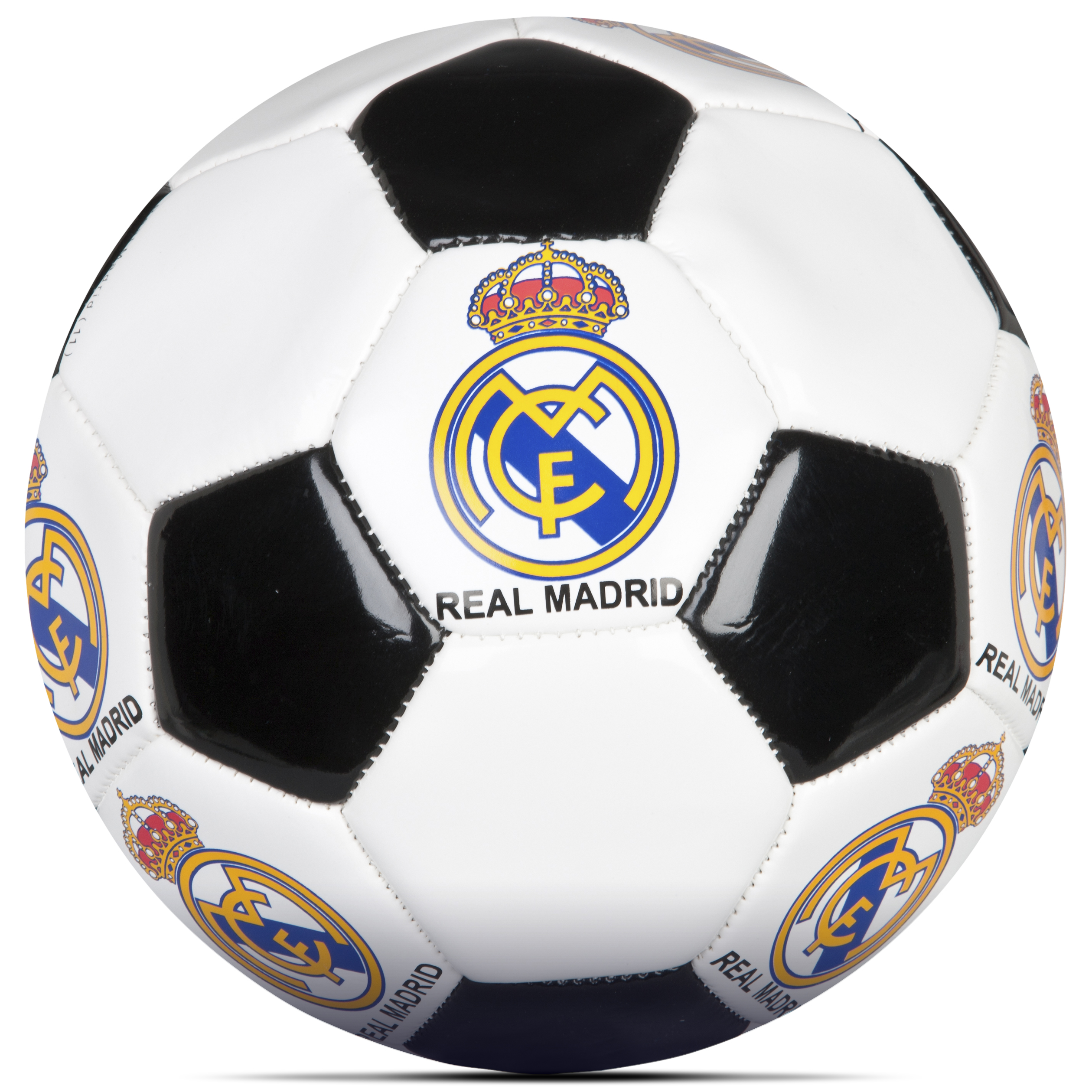 Balón Clasic Real Madrid - Blanco/negro