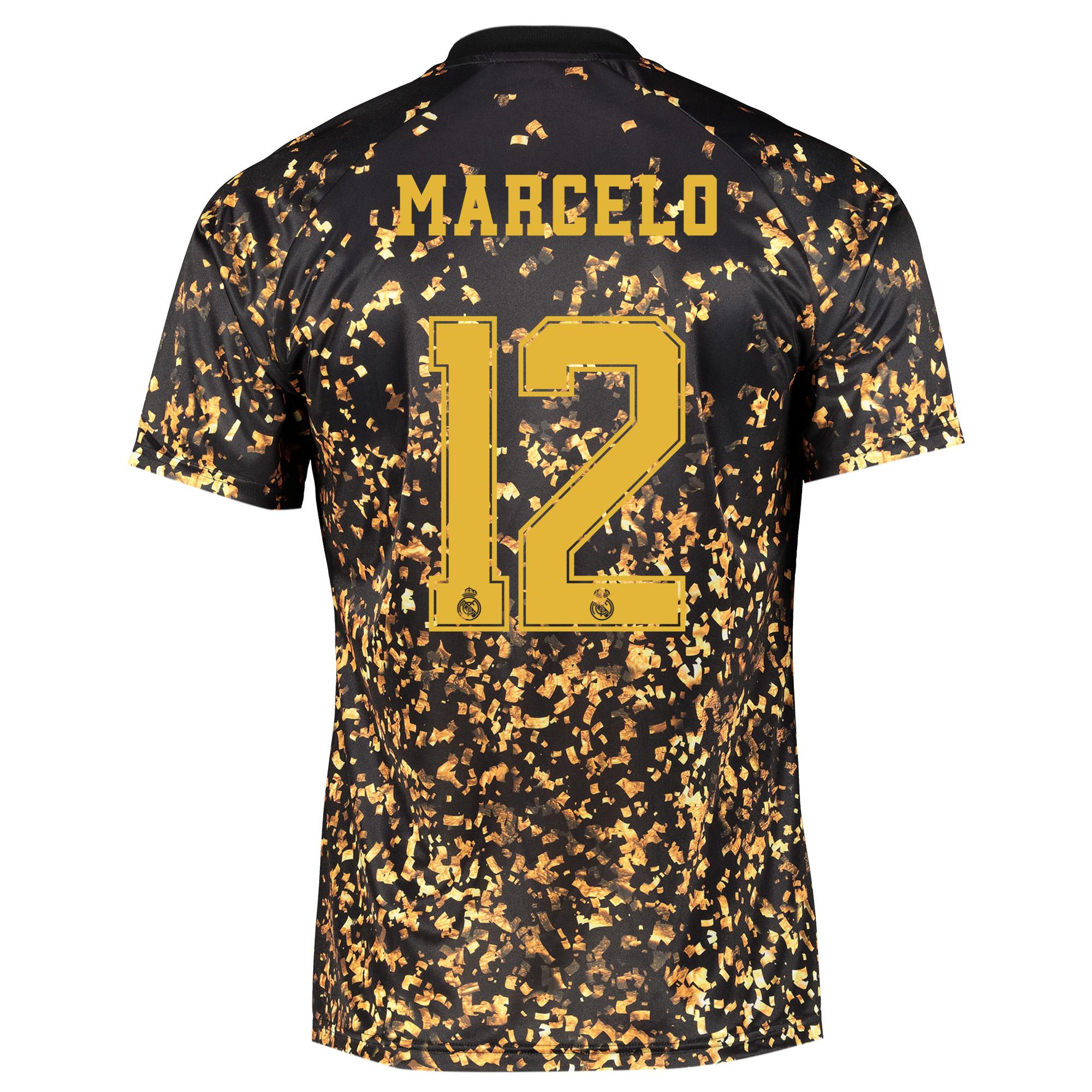Camiseta adidas EA Sports del Real Madrid - Negro dorsal Marcelo 12