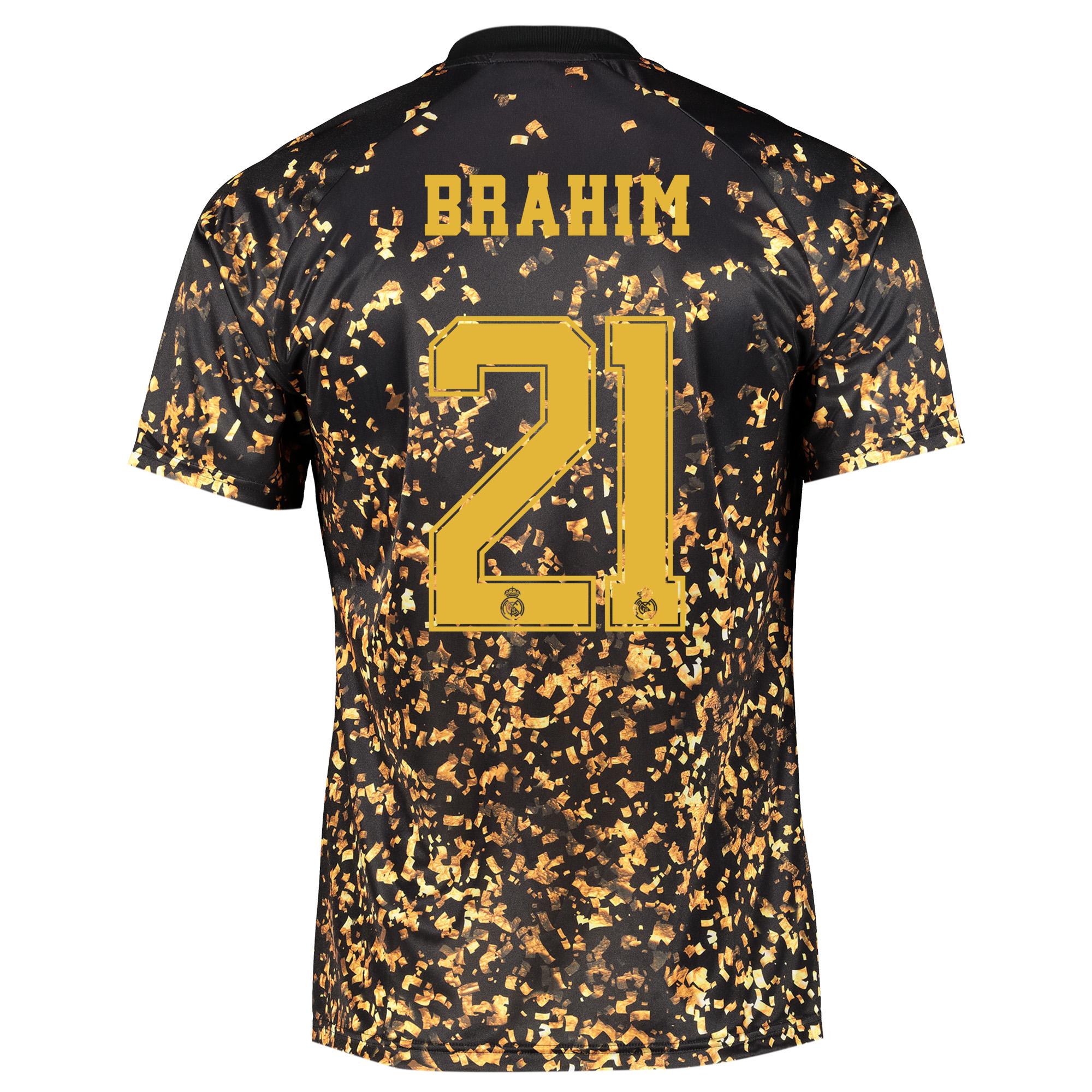 Camiseta adidas EA Sports del Real Madrid - Negro dorsal Brahim 21