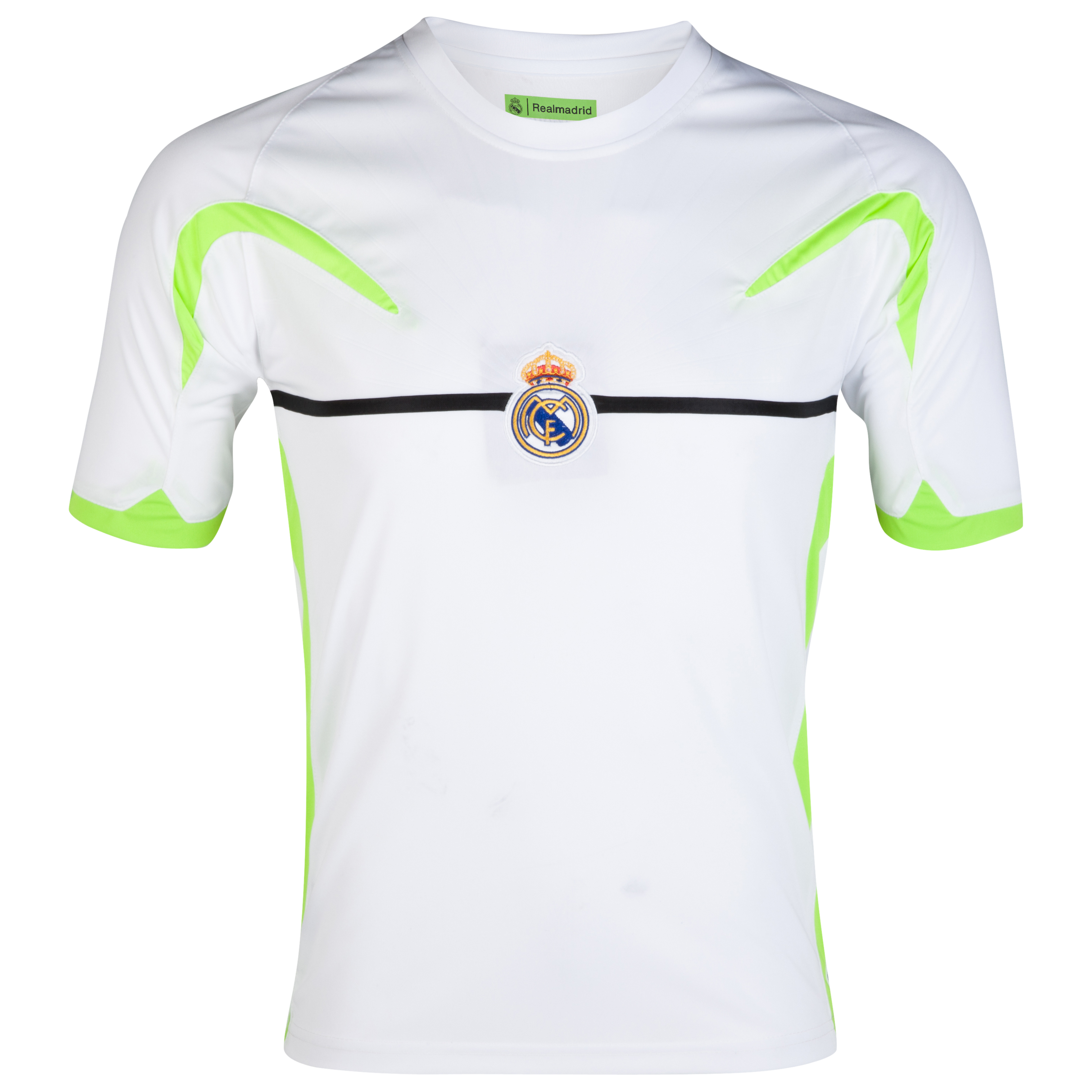 Real Madrid Panelled T-Shirt - White