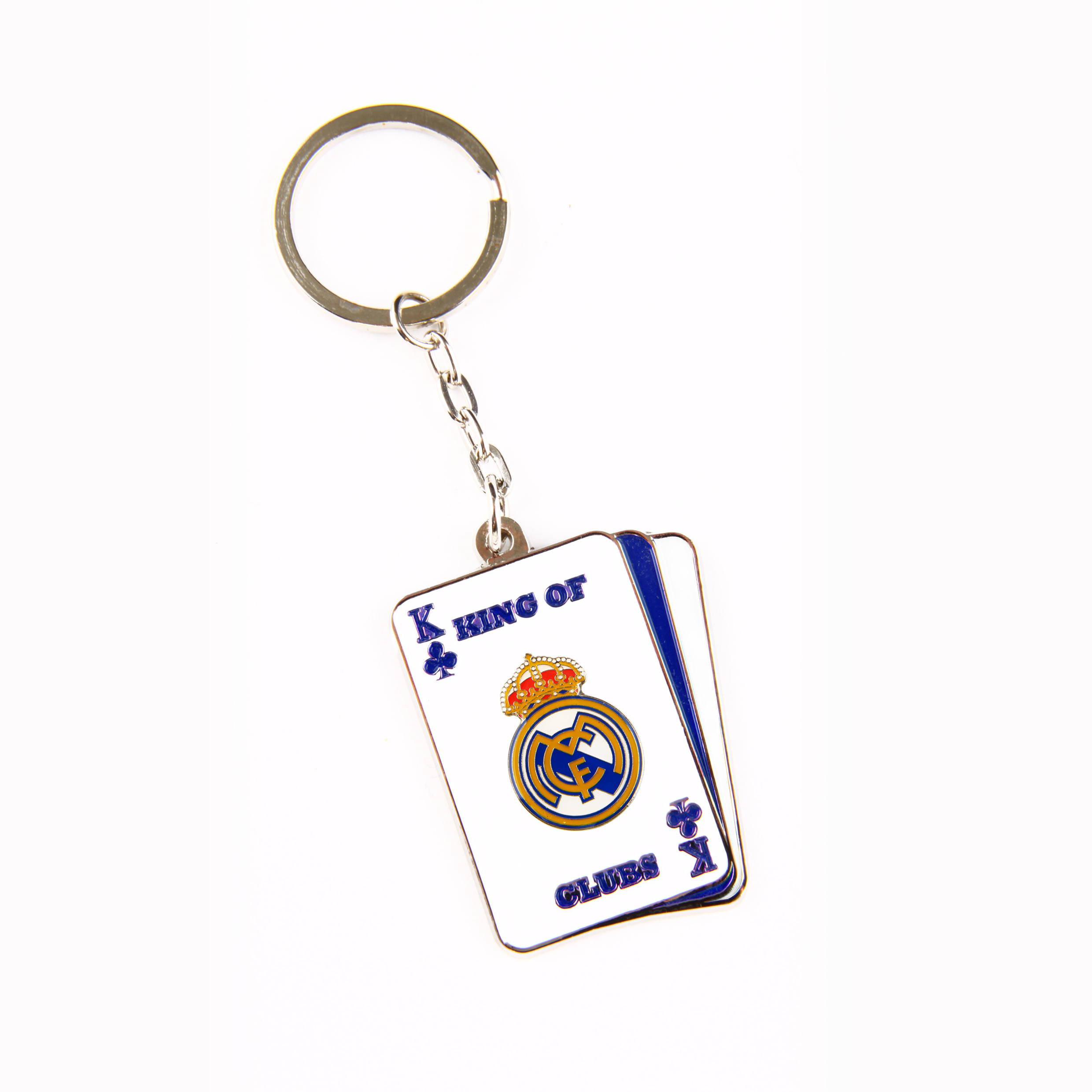 Real Madrid King Of Clubs Keyring