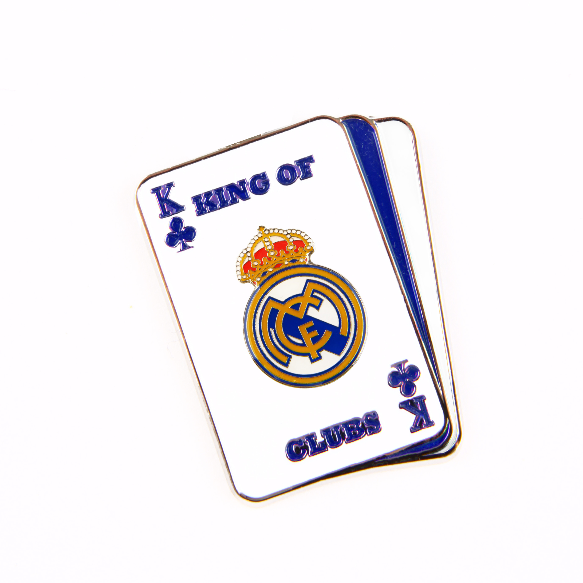 Insignia rey de trboles Real Madrid
