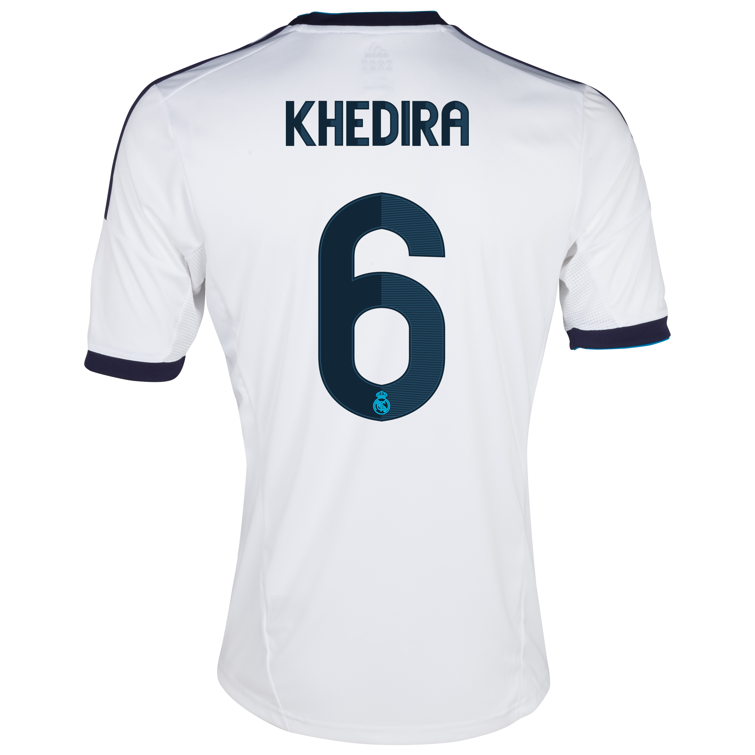 Real Madrid Home Shirt 2012/13 with Khedira 6 printing