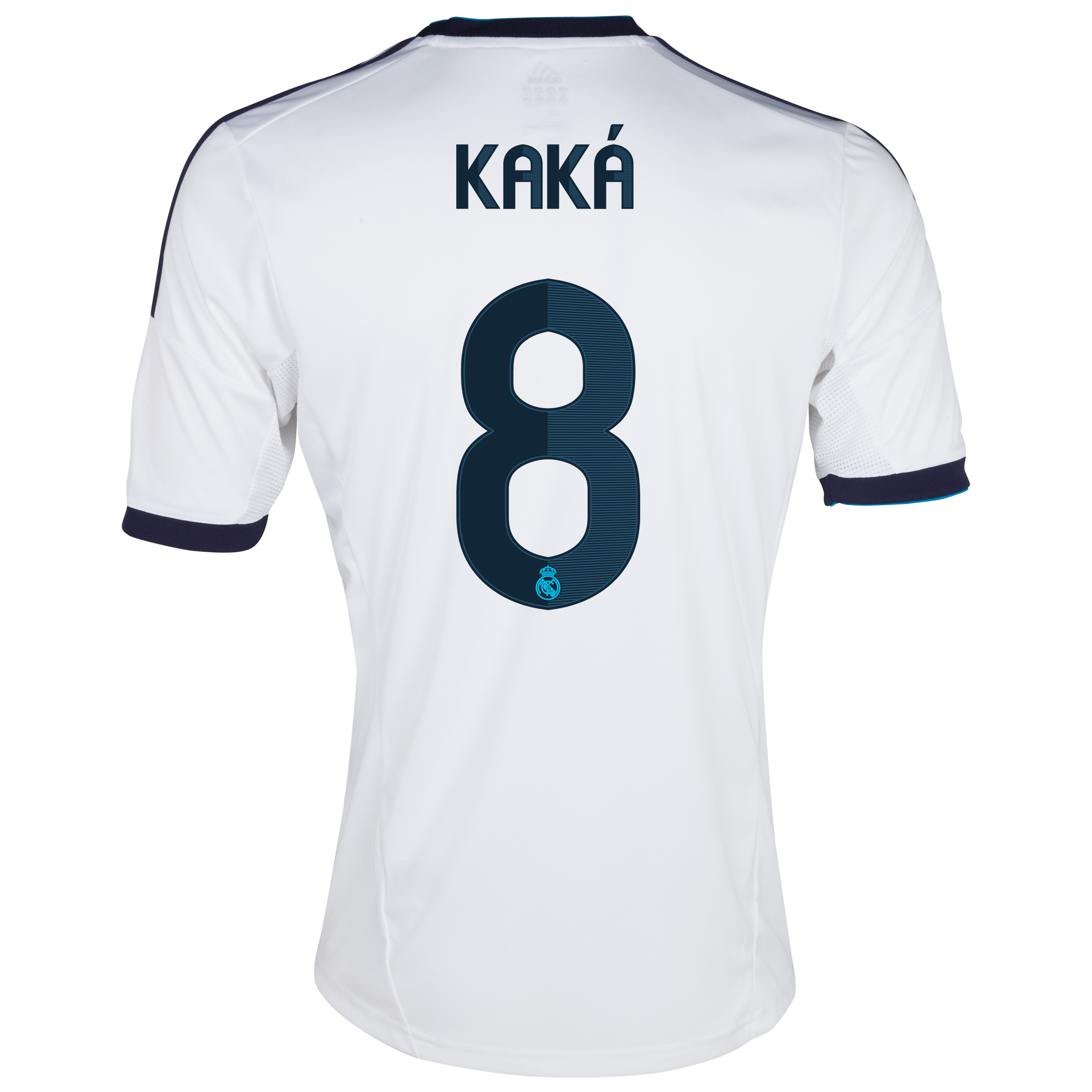 Camiseta 1 equipacin del Real Madrid 2012/13 con Kak 8