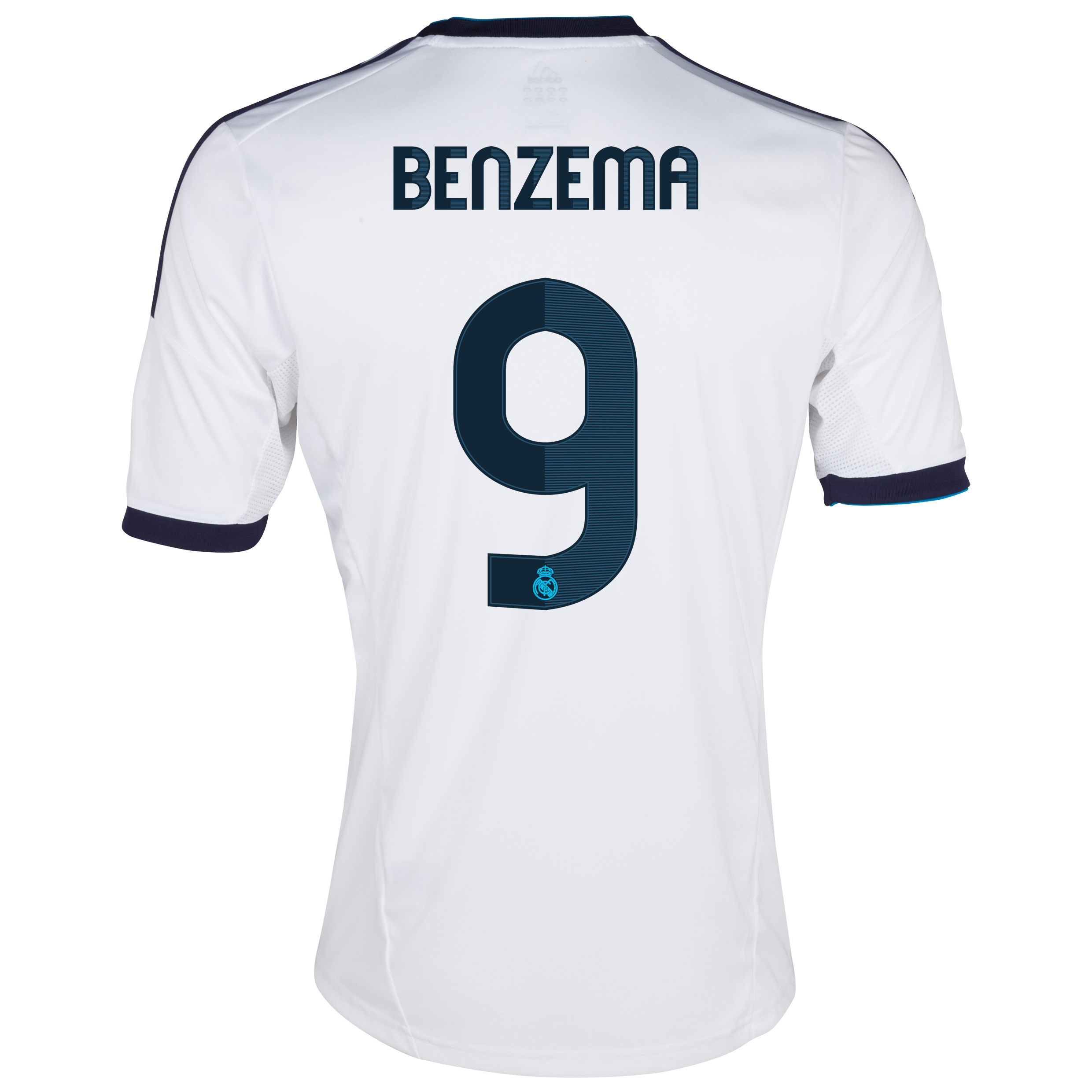 Camiseta 1 equipacin del Real Madrid 2012/13 con Benzema 9