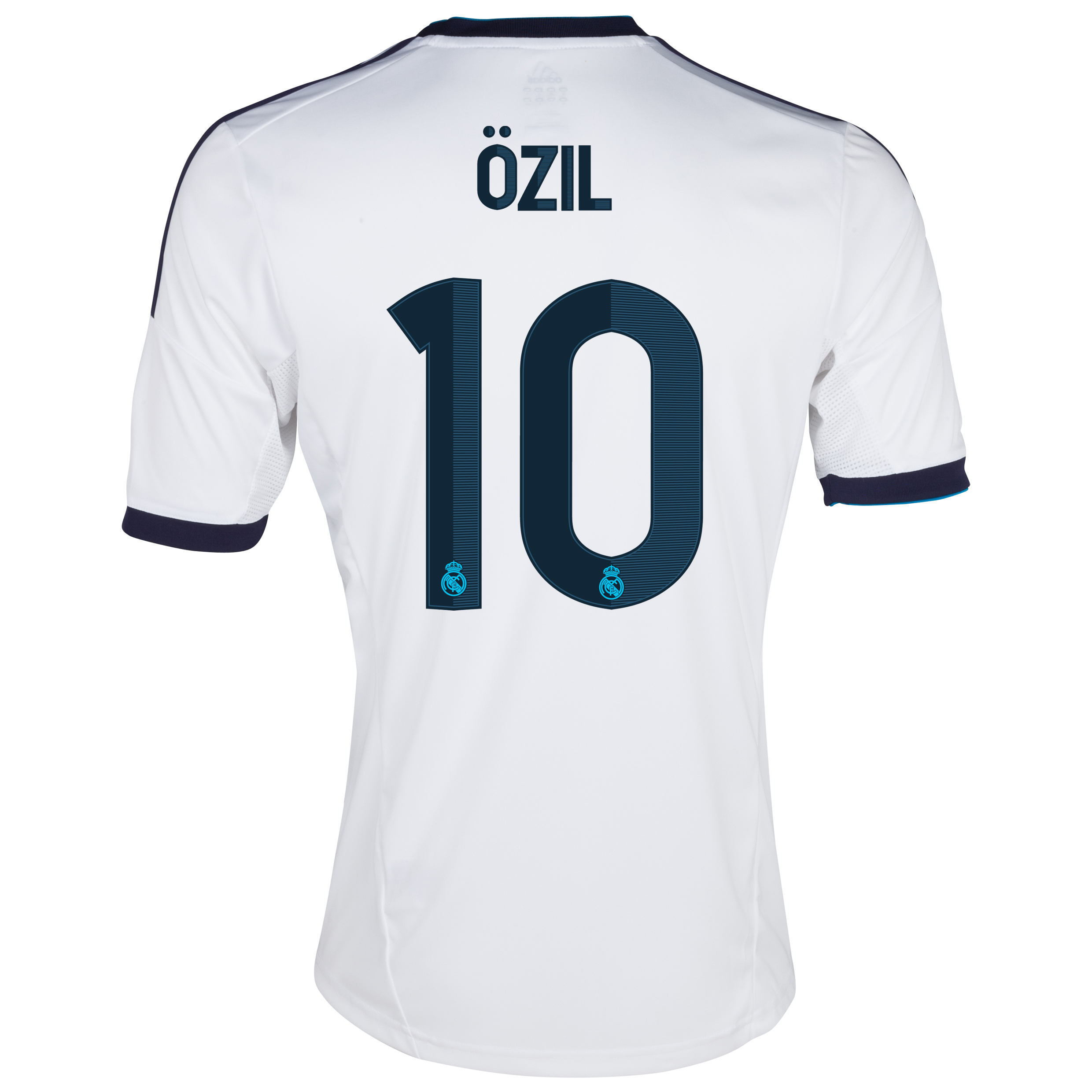 Real Madrid Home Shirt 2012/13 with &Ouml;zil 10 printing