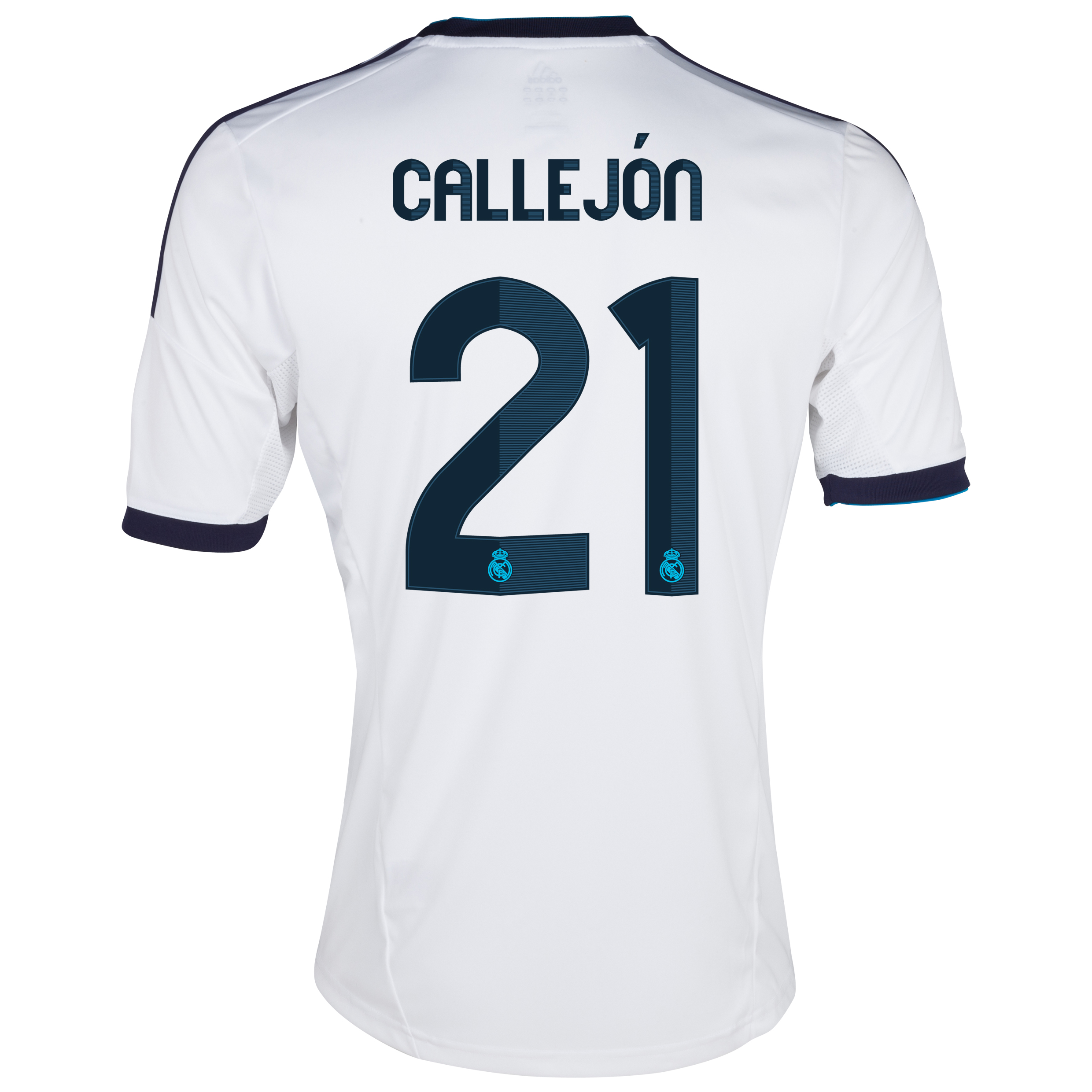 Real Madrid Home Shirt 2012/13 with Callejón 21 printing