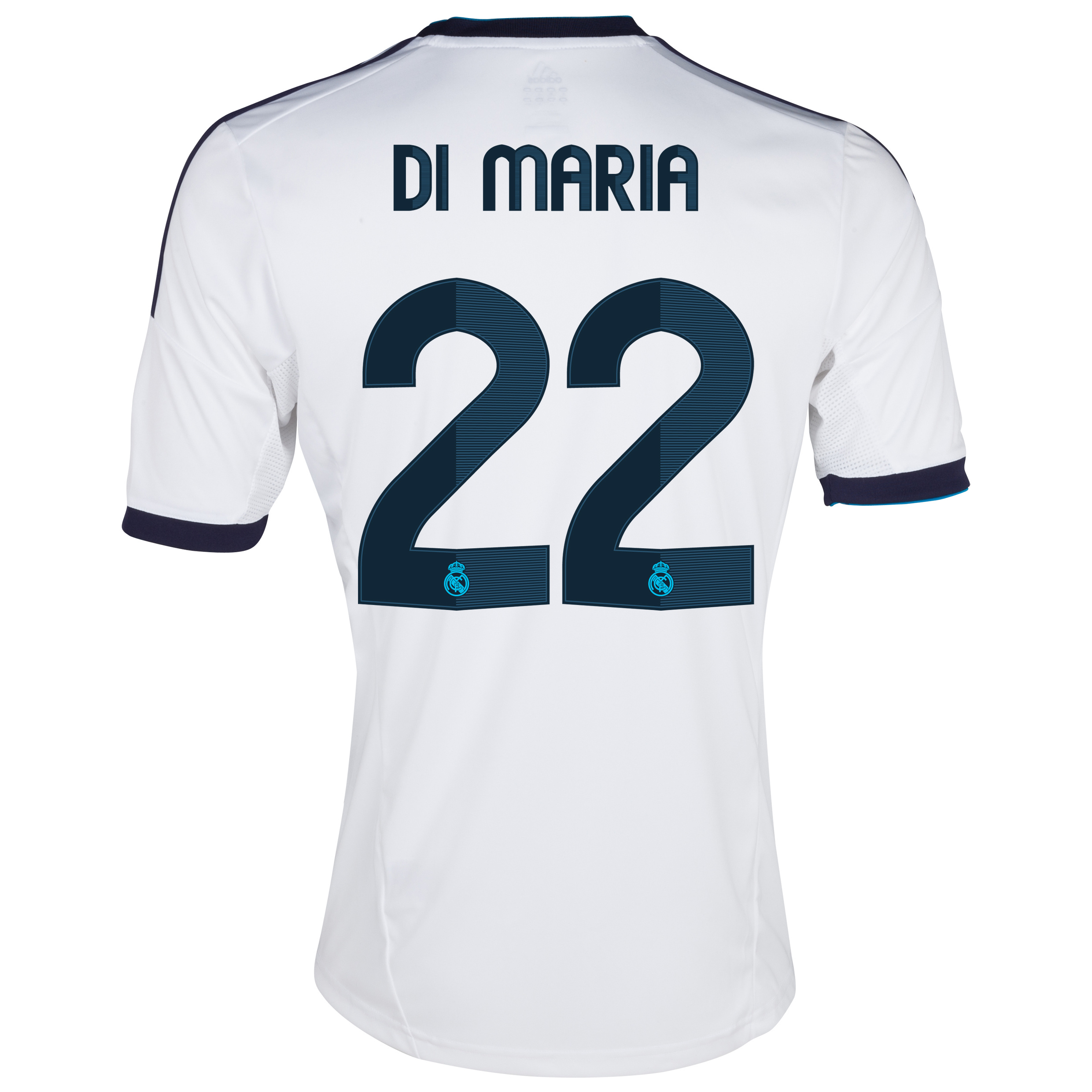 Real Madrid Home Shirt 2012/13 with Di María 22 printing