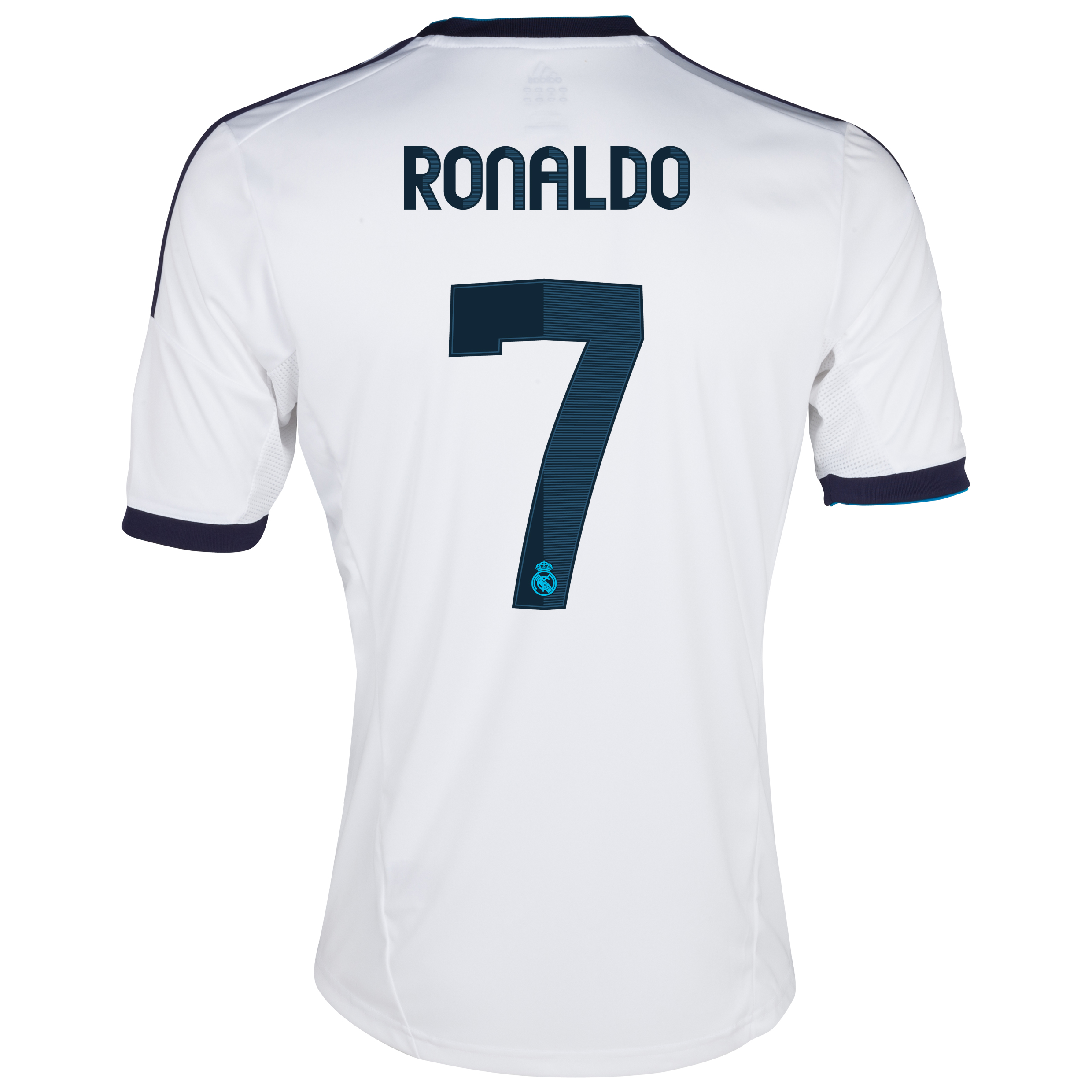Real Madrid Home Shirt 2012/13 - Youths with Ronaldo 7 printing