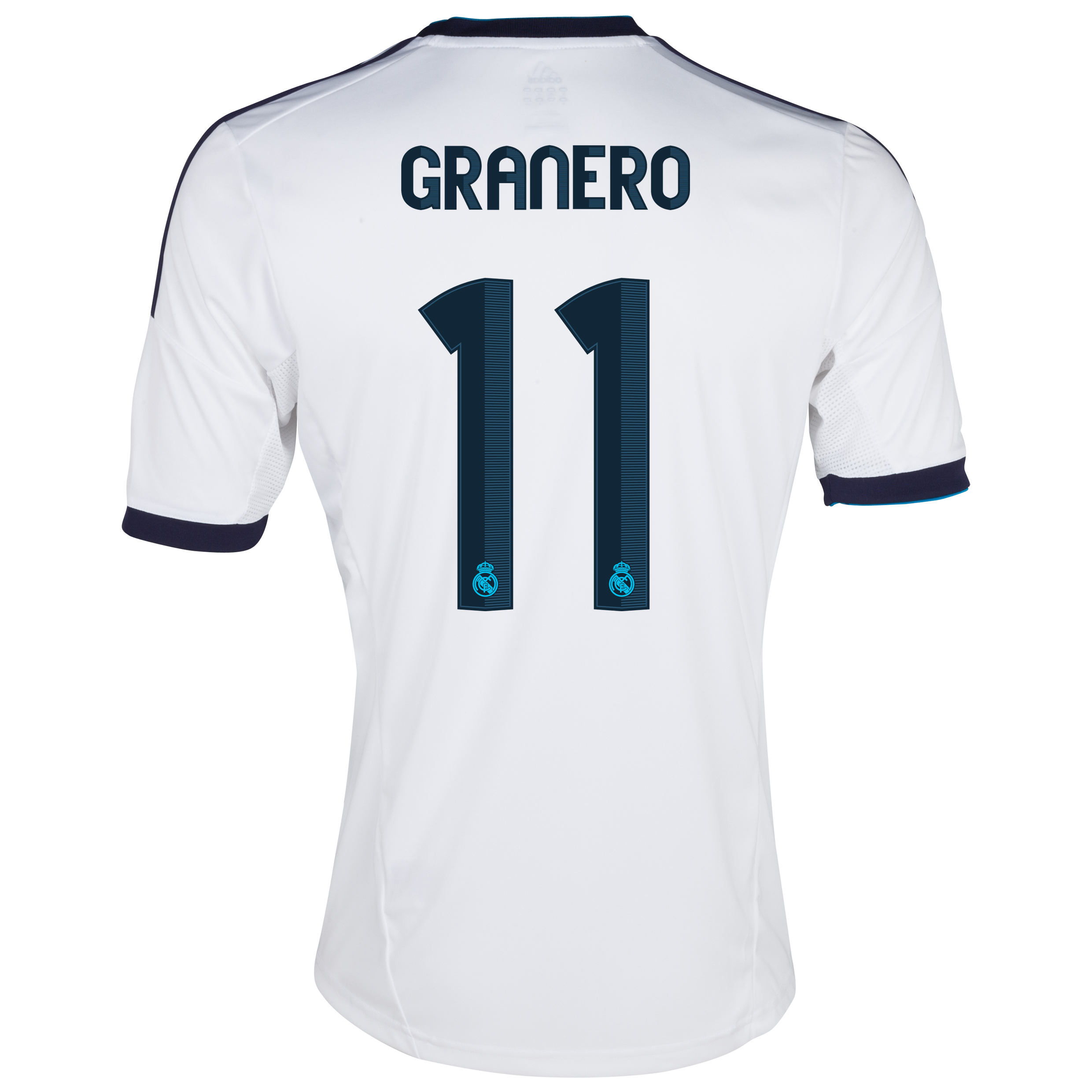 Real Madrid Home Shirt 2012/13 - Youths with Granero 11 printing