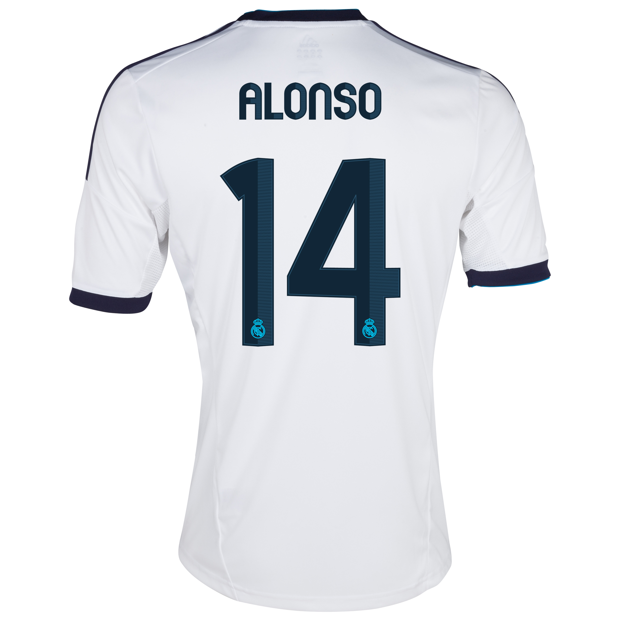 Real Madrid Home Shirt 2012/13 - Youths with Alonso 14 printing