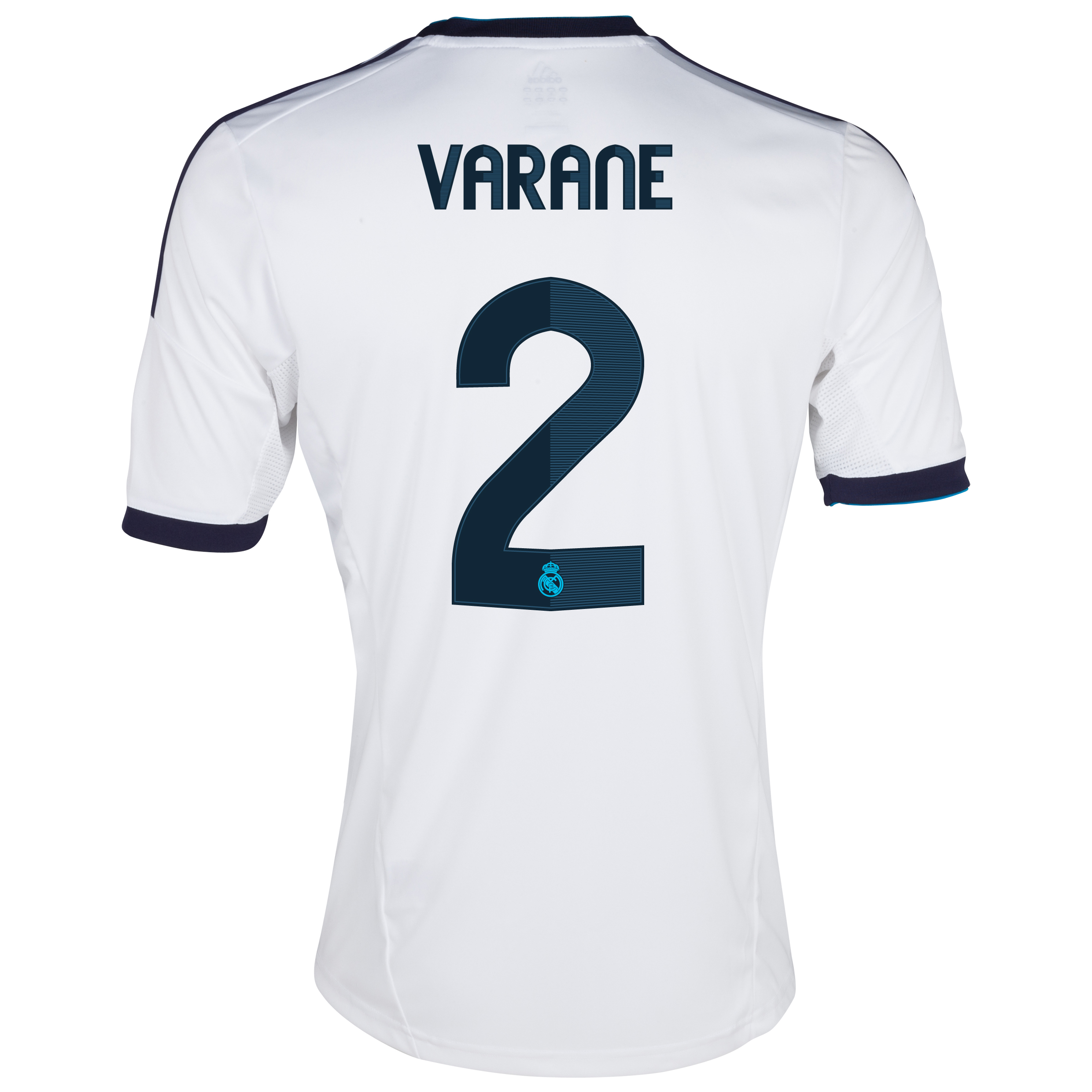 Camiseta 1 equipacin del Real Madrid 2012/13 Cadete con Varane 19