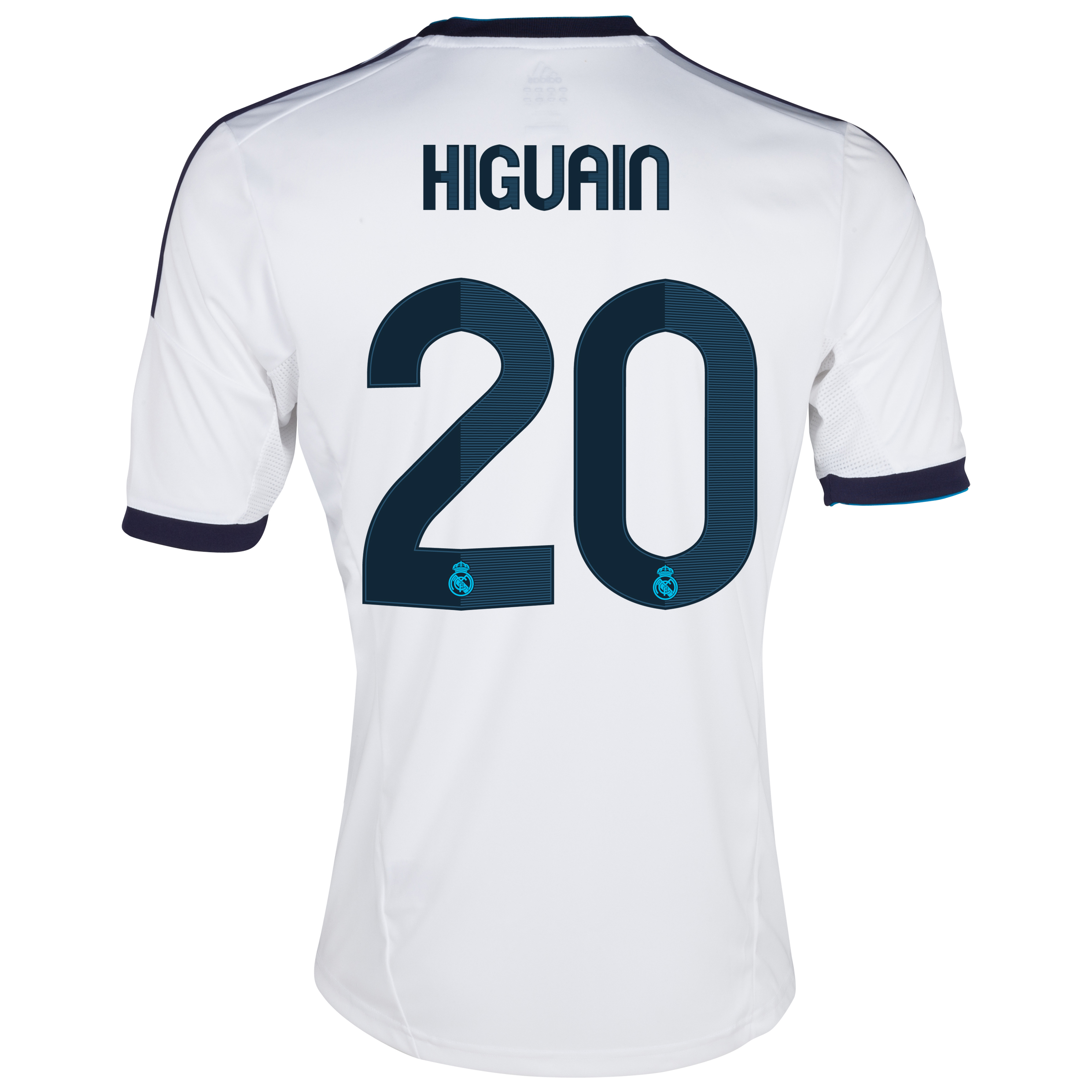 Camiseta 1 equipacin del Real Madrid 2012/13 Cadete con Higuan 20