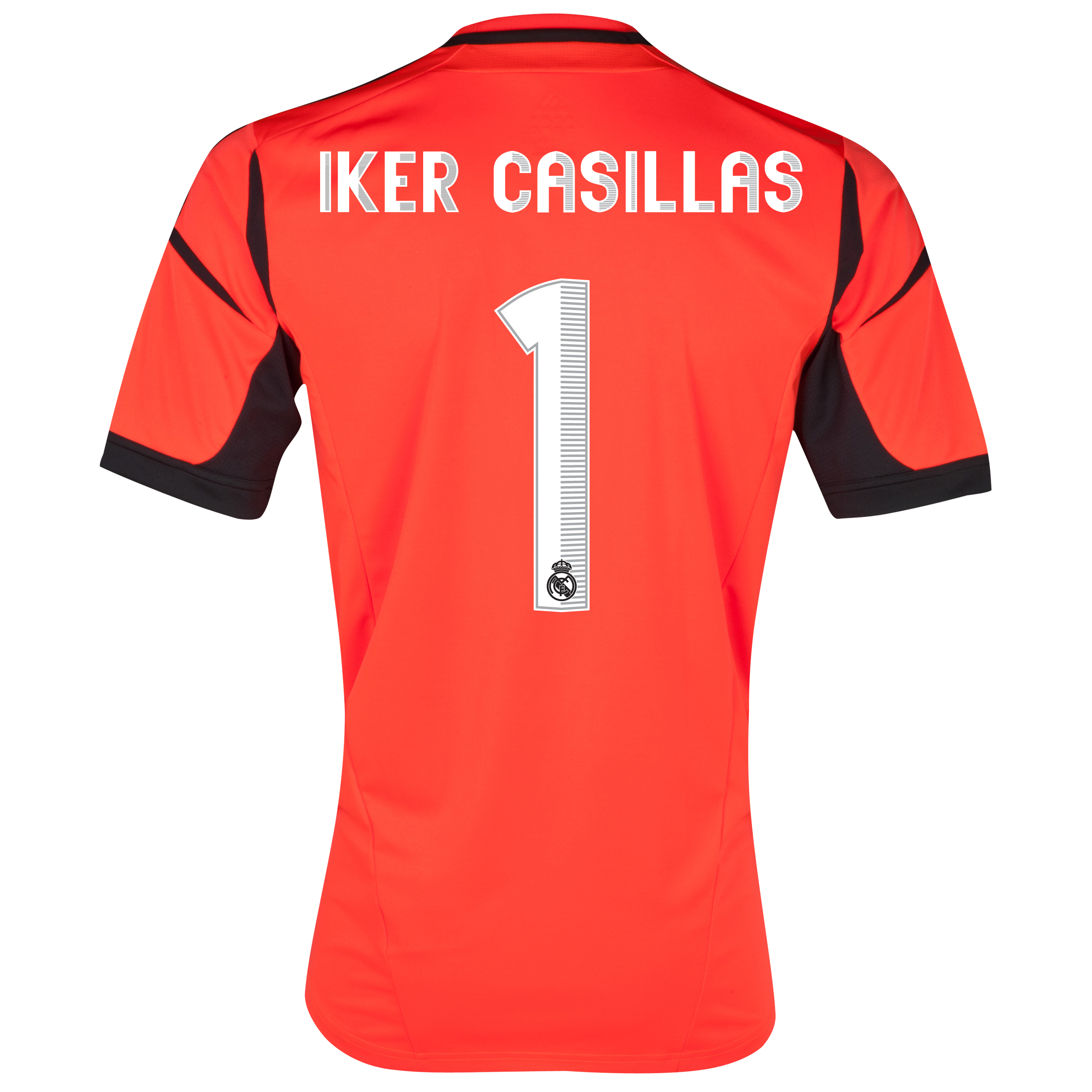 Real Madrid Home Goalkeeper Shirt 2012/13 with Iker Casillas 1 printing