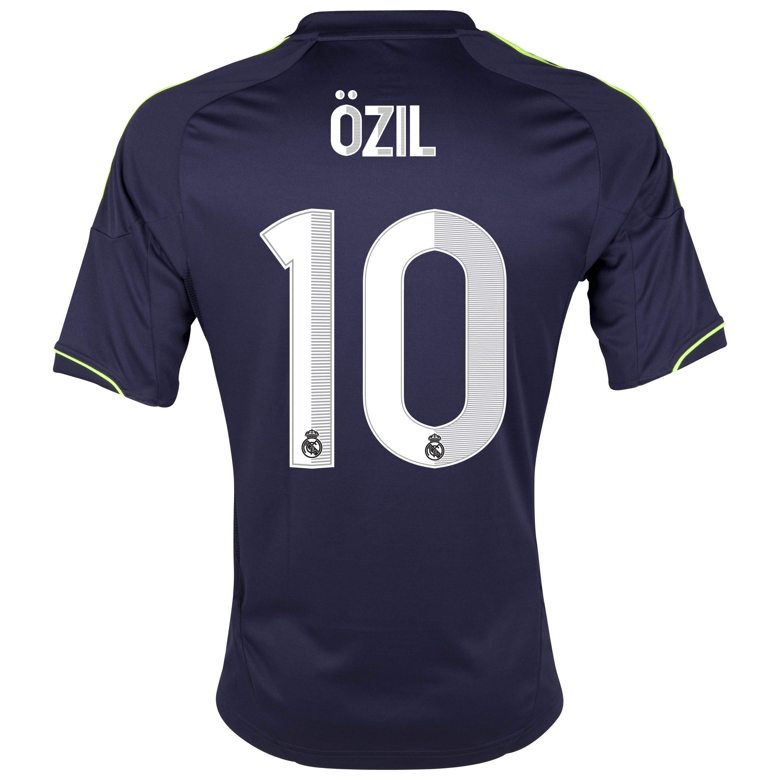 Real Madrid Away Shirt 2012/13 with &Ouml;zil 10 printing