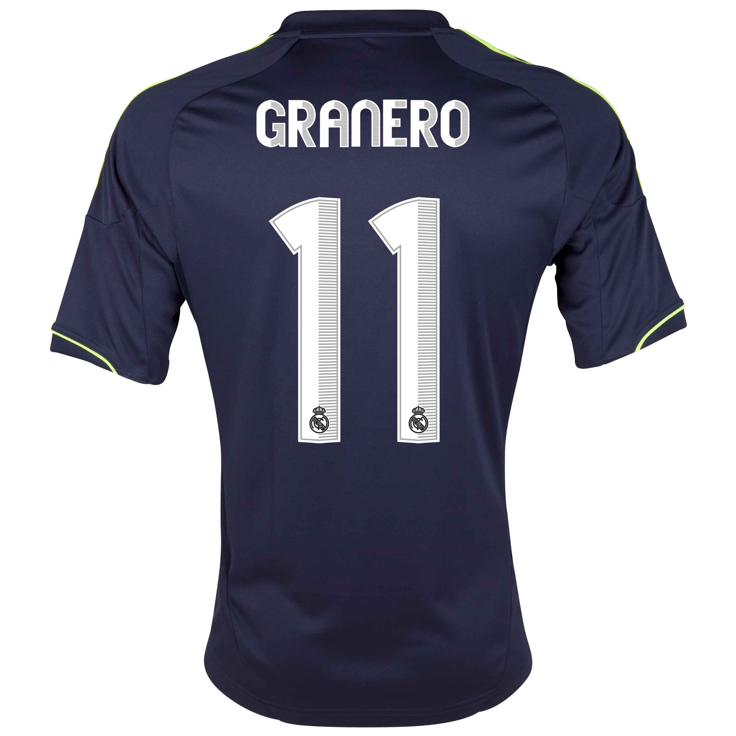 Real Madrid Away Shirt 2012/13 with Granero 11 printing