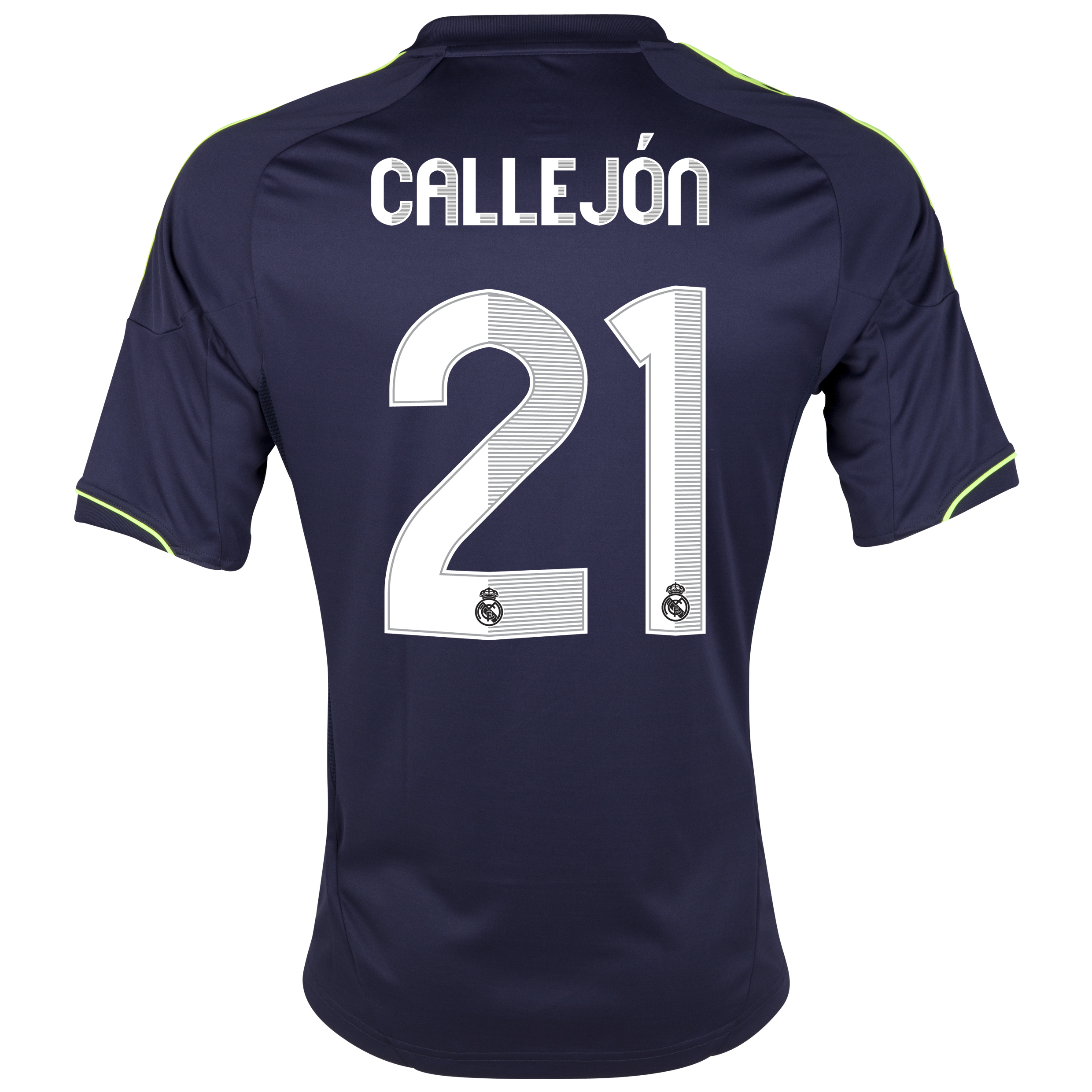 Real Madrid Away Shirt 2012/13 with Callejón 21 printing