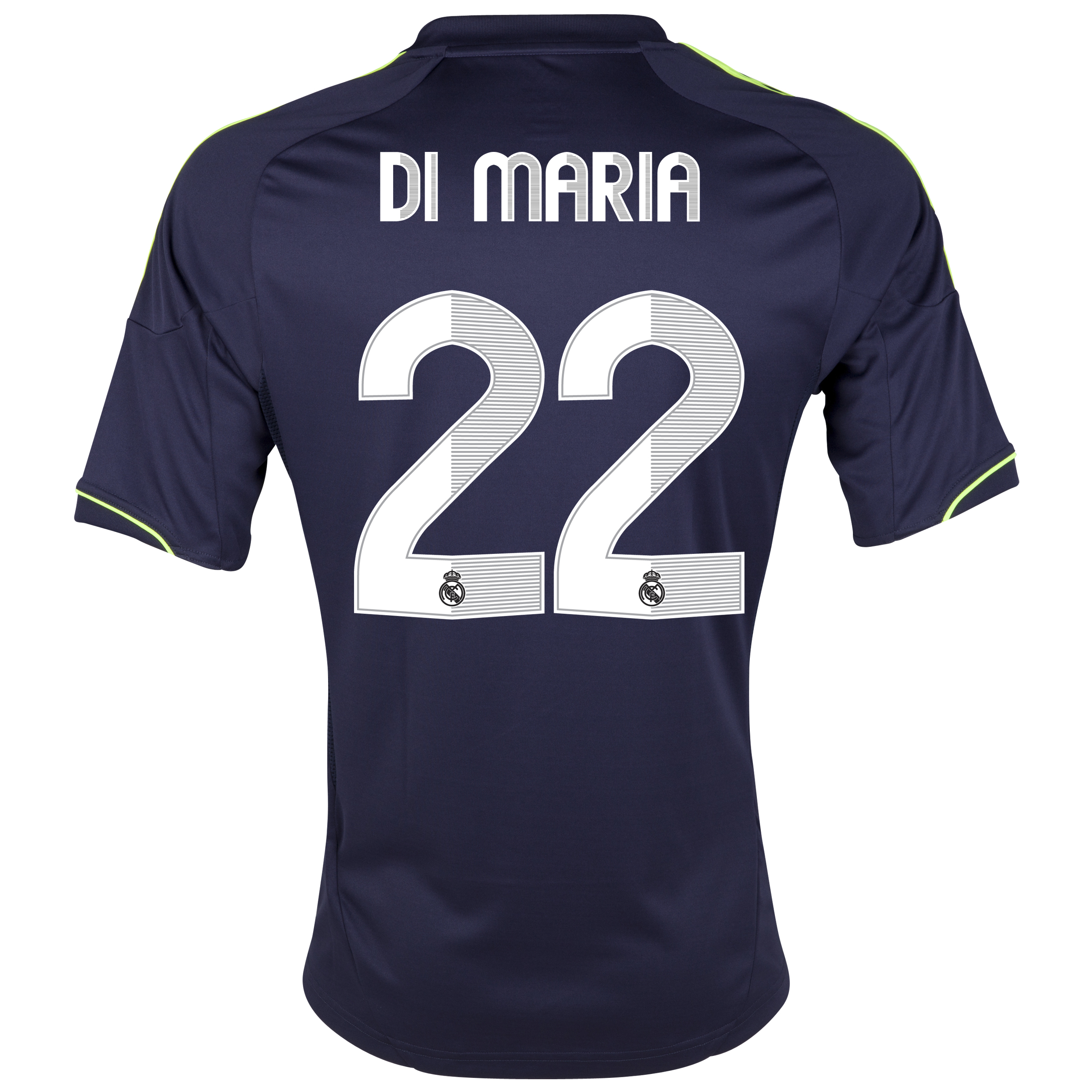Real Madrid Away Shirt 2012/13 with Di María 22 printing