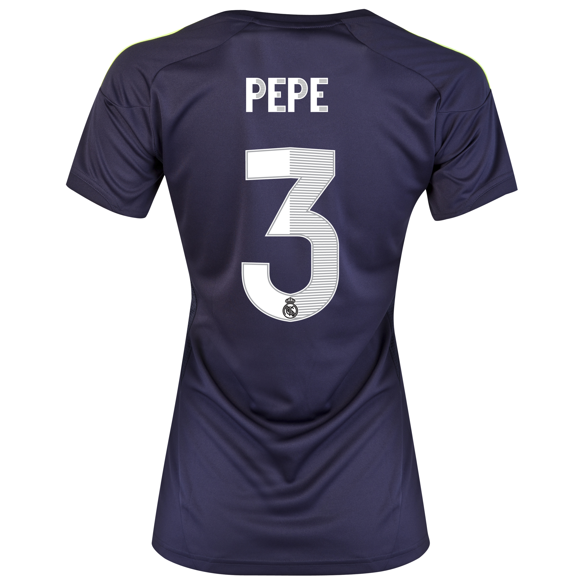 Real Madrid Away Shirt 2012/13 - Womens with Pepe 3 printing
