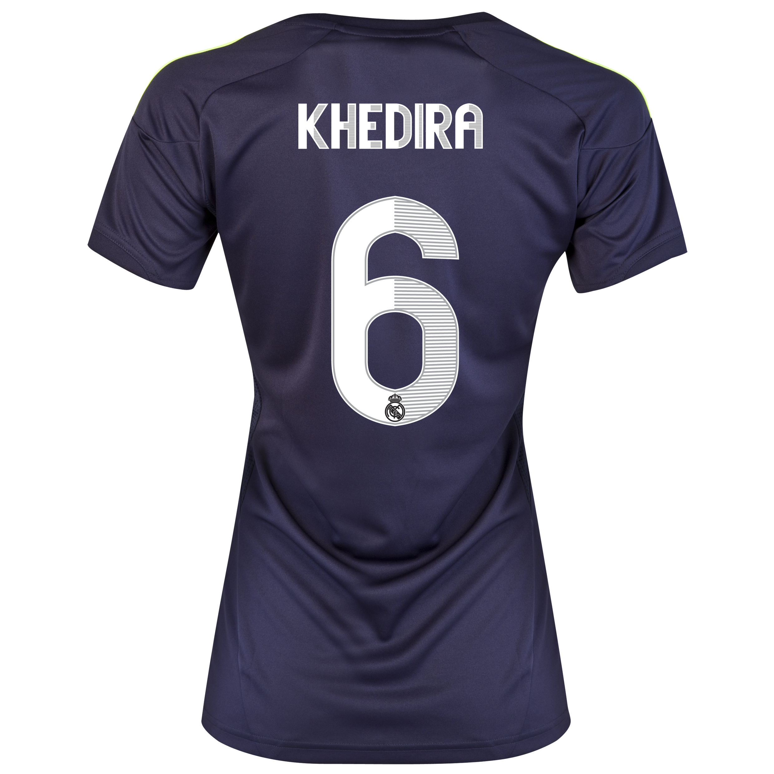 Real Madrid Away Shirt 2012/13 - Womens with Khedira 6 printing