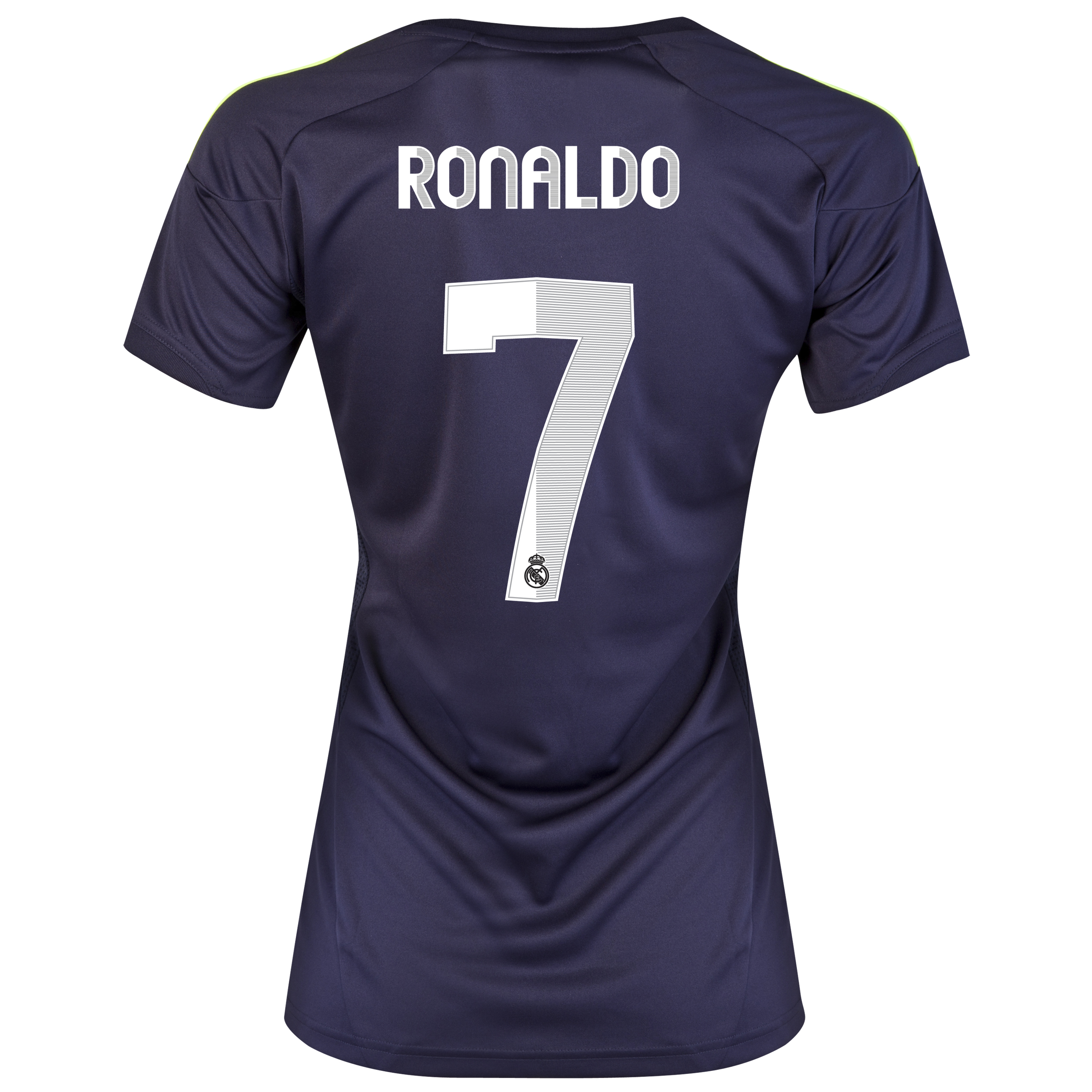 Real Madrid Away Shirt 2012/13 - Womens with Ronaldo 7 printing