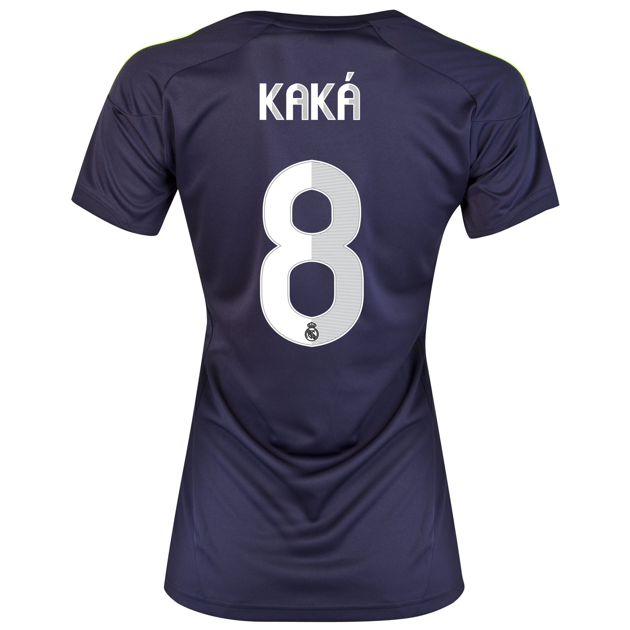 Camiseta visitante Real Madrid 2012/13 con impresin 8 Kak - Mujer