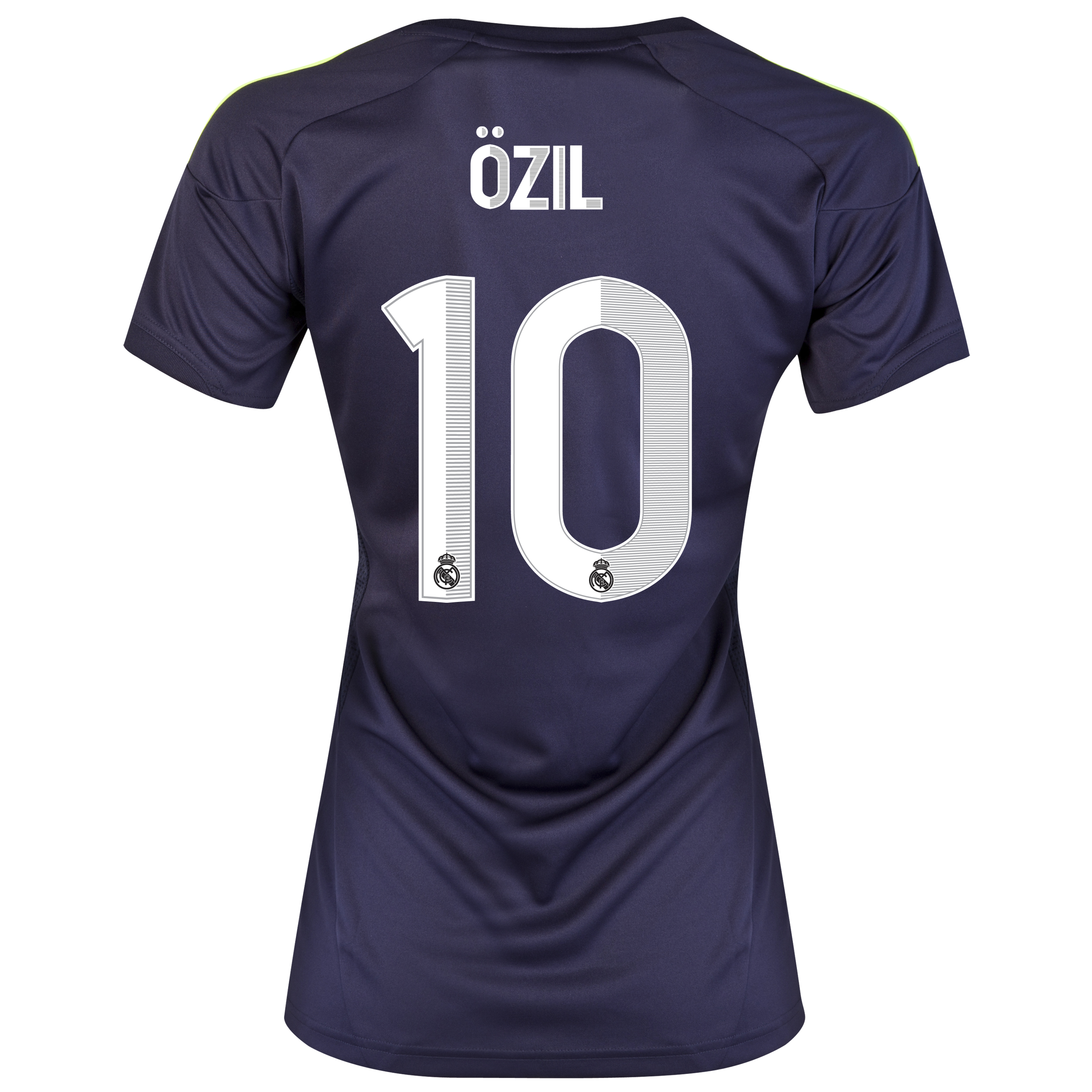 Real Madrid Away Shirt 2012/13 - Womens with &Ouml;zil 10 printing