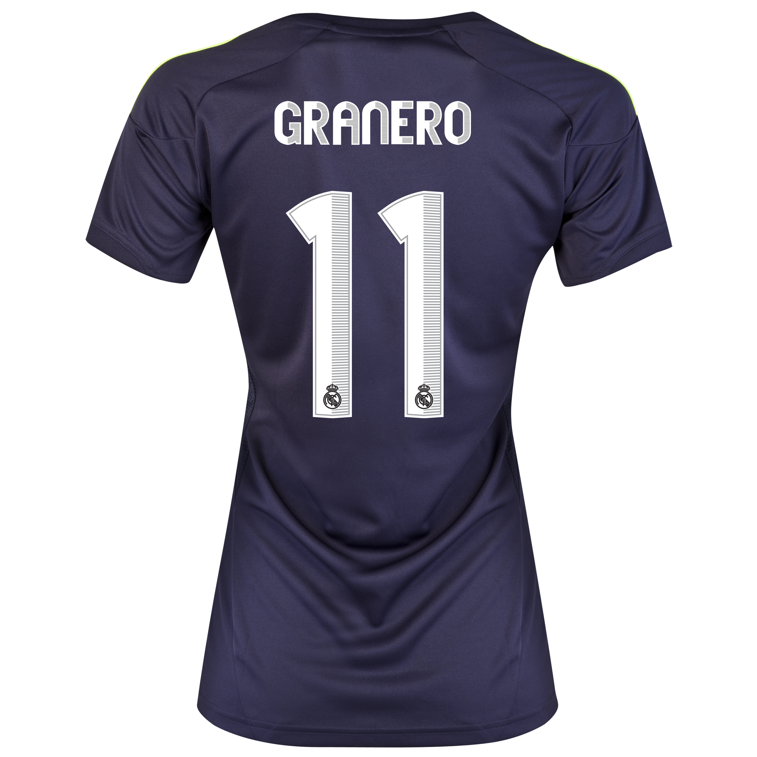 Real Madrid Away Shirt 2012/13 - Womens with Granero 11 printing