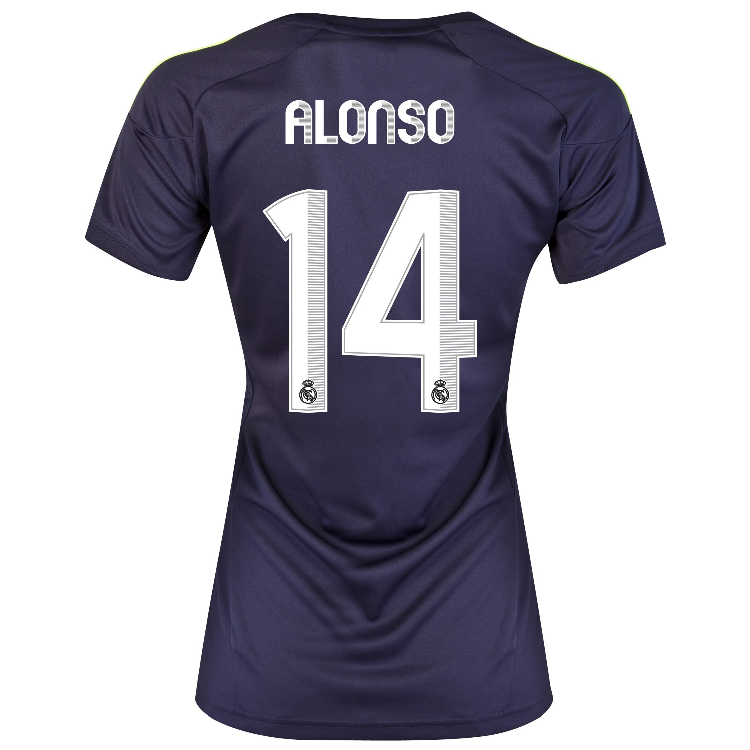 Real Madrid Away Shirt 2012/13 - Womens with Alonso 14 printing