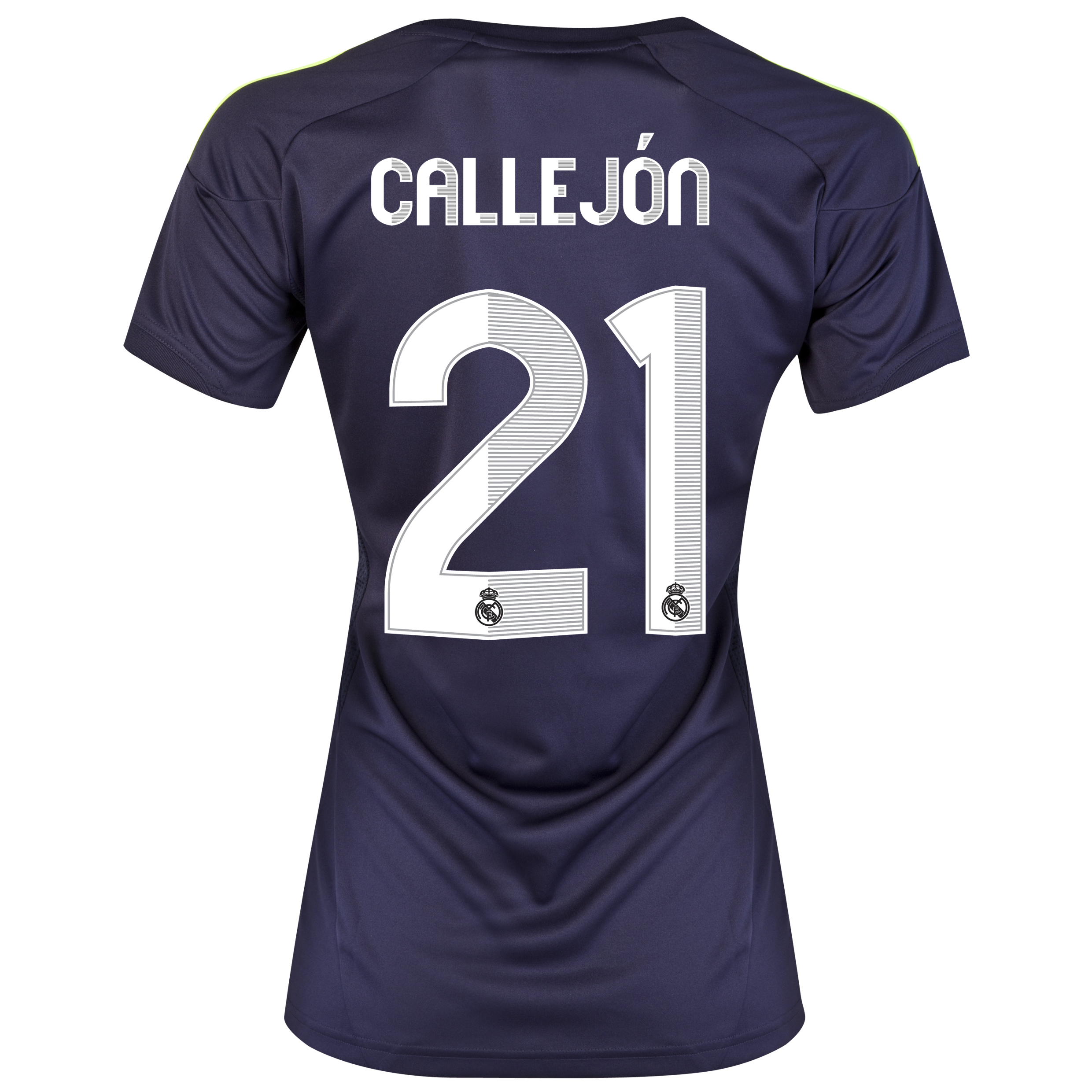 Real Madrid Away Shirt 2012/13 - Womens with Callejón 21 printing