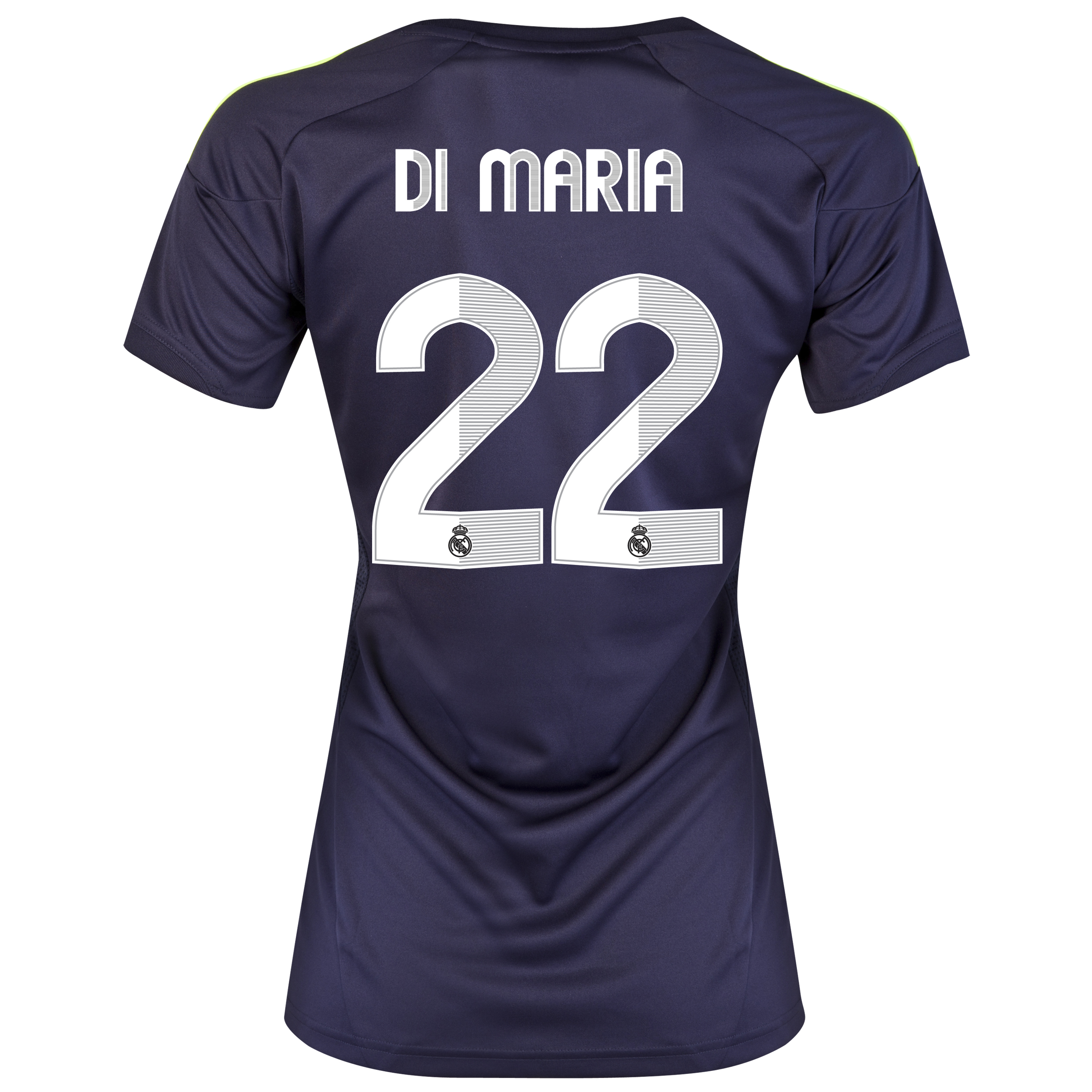 Real Madrid Away Shirt 2012/13 - Womens with Di Mar&iacute;a 22 printing
