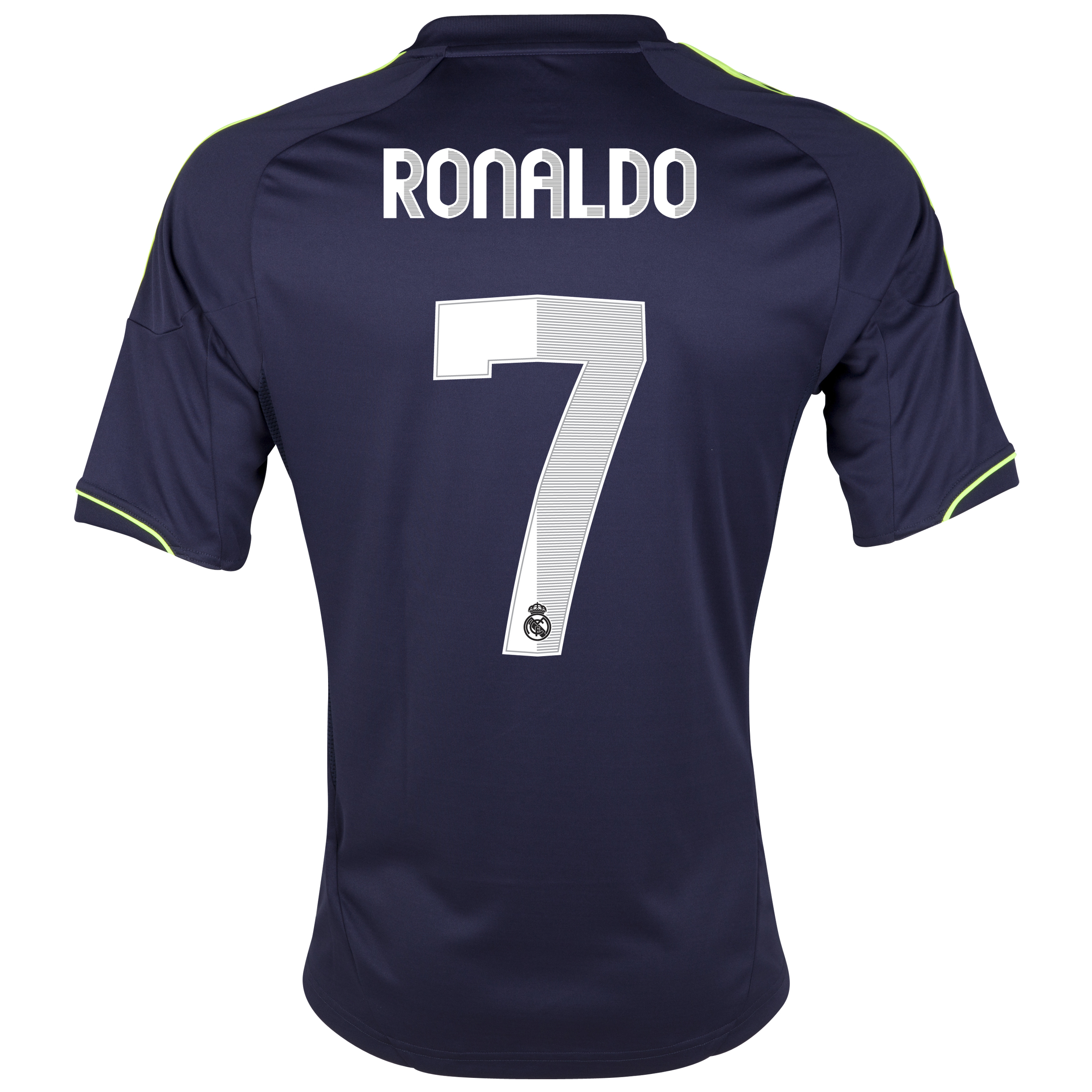 Camiseta visitante Real Madrid 2012/13 con impresin 7 Ronaldo - Joven