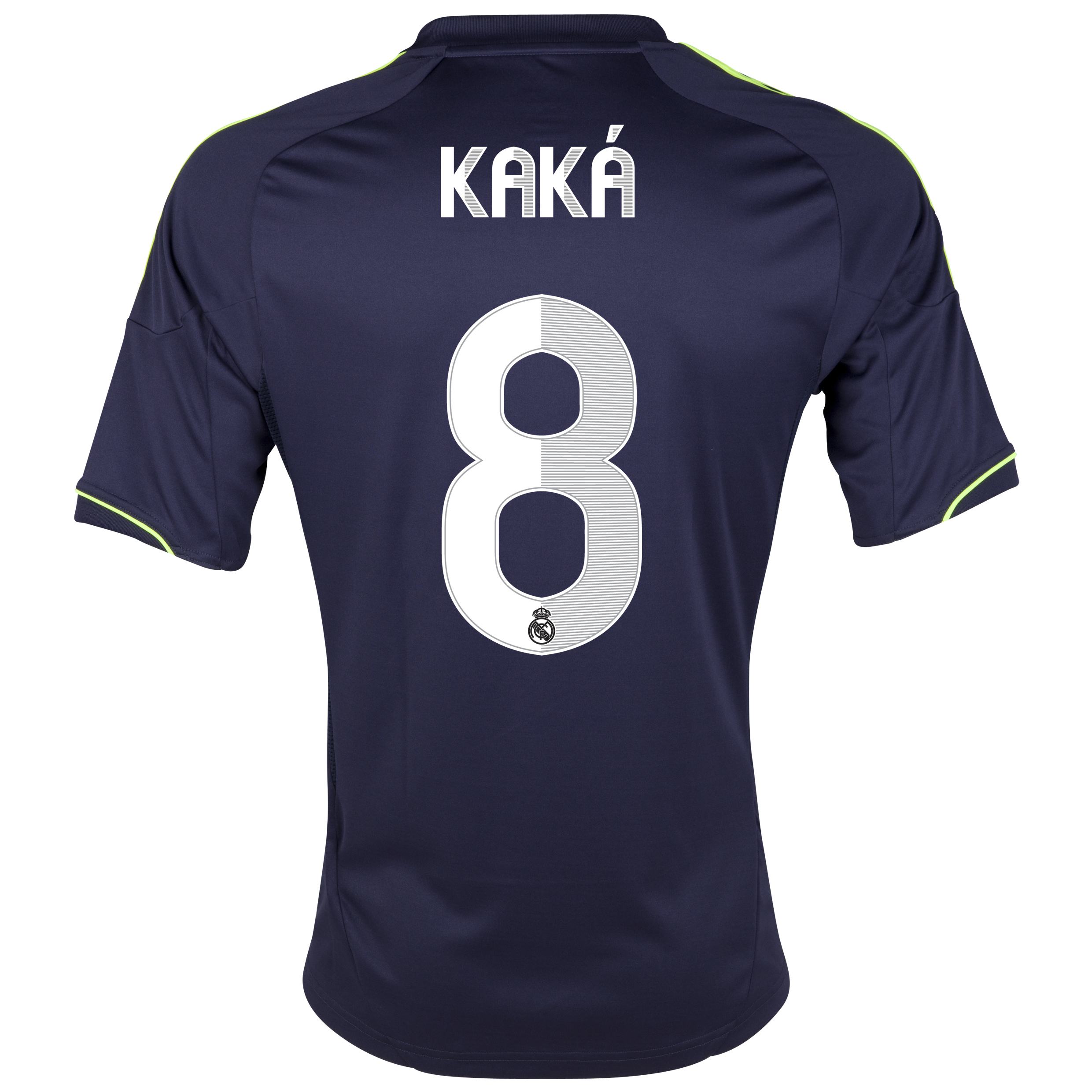 Camiseta visitante Real Madrid 2012/13 con impresin 8 Kak - Joven
