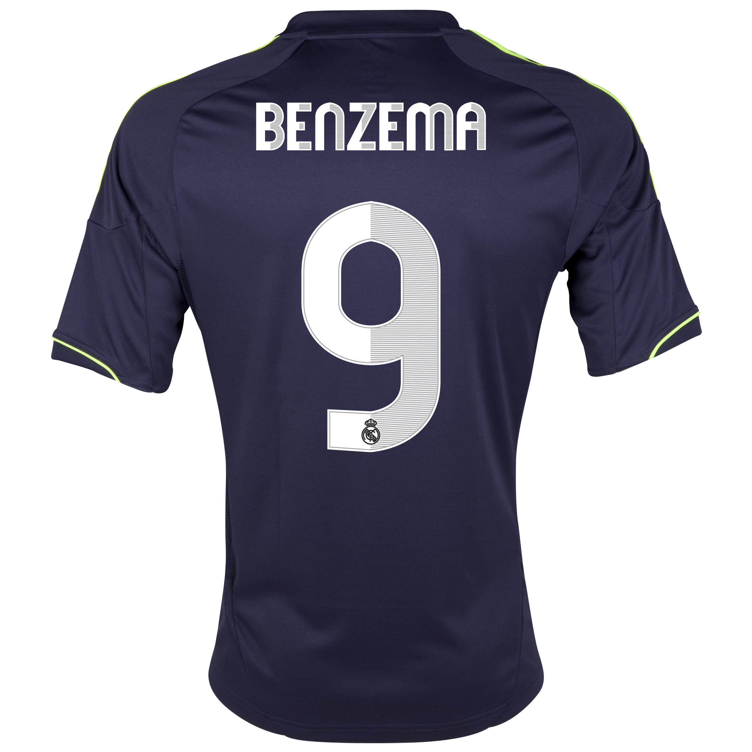 Real Madrid Away Shirt 2012/13 - Youths with Benzema 9 printing