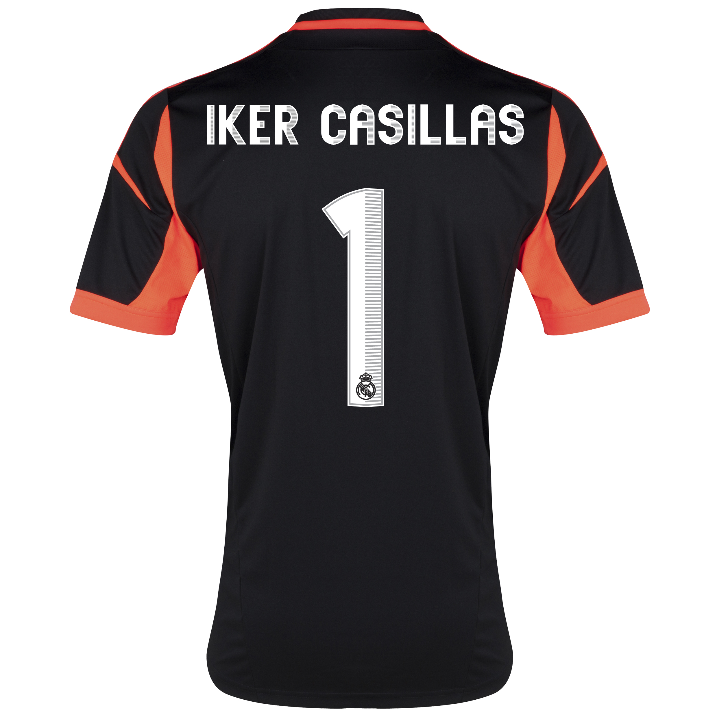 Real Madrid Away Goalkeeper Shirt 2012/13 with Iker Casillas 1 printing