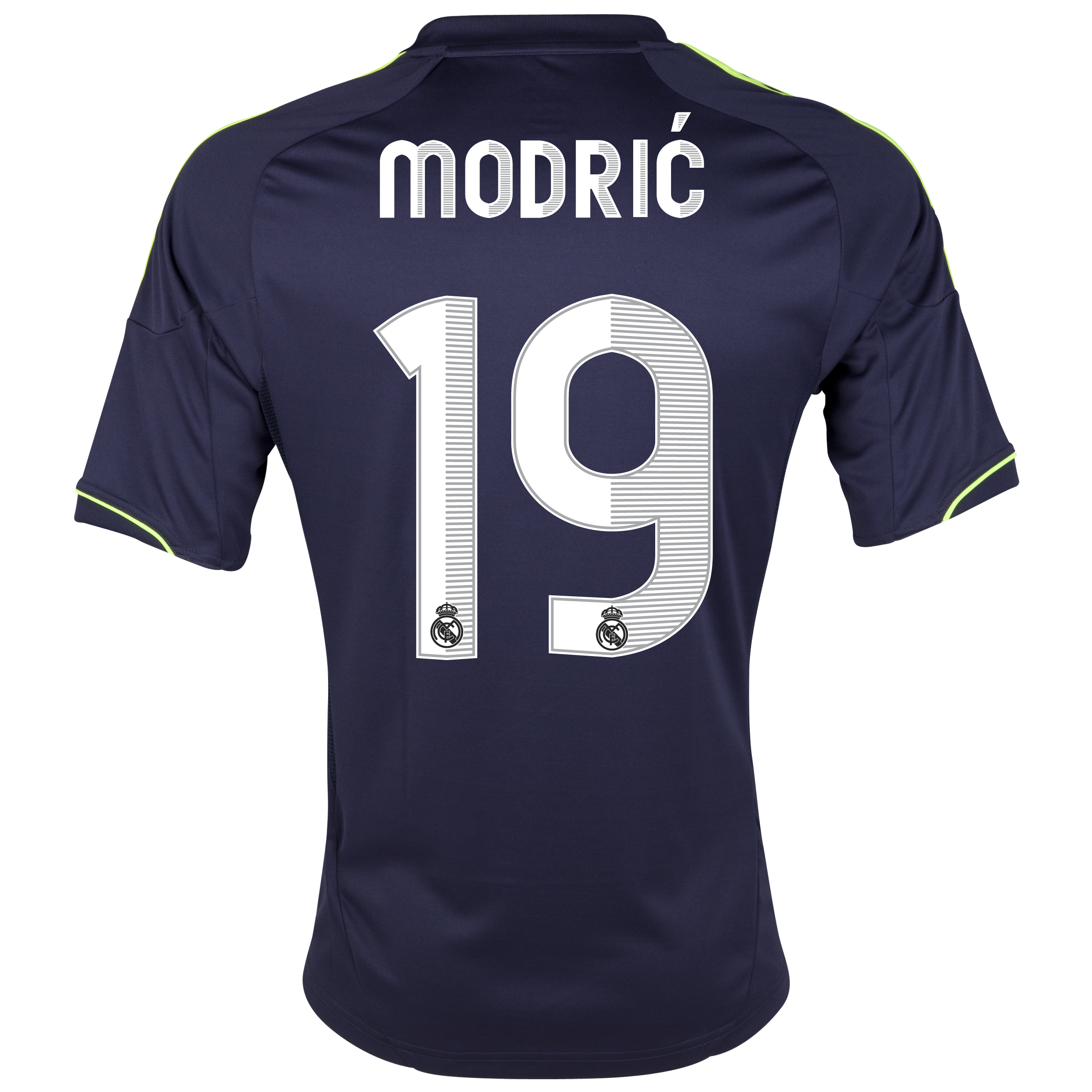 Real Madrid Away Shirt 2012/13 with Modric 19 printing
